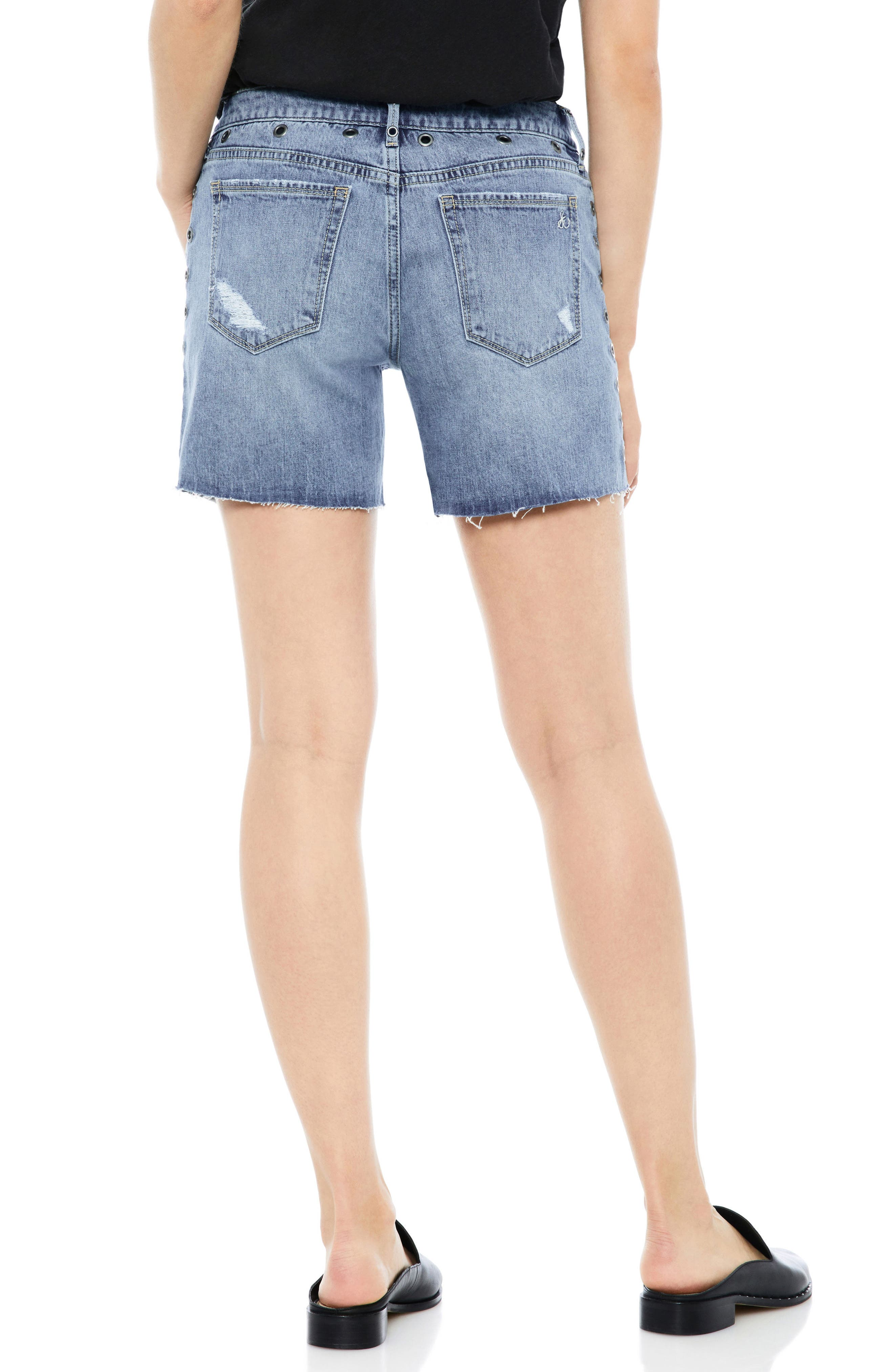 The Derby Grommet Bermuda Shorts,                             Alternate thumbnail 2, color,                             BENNY