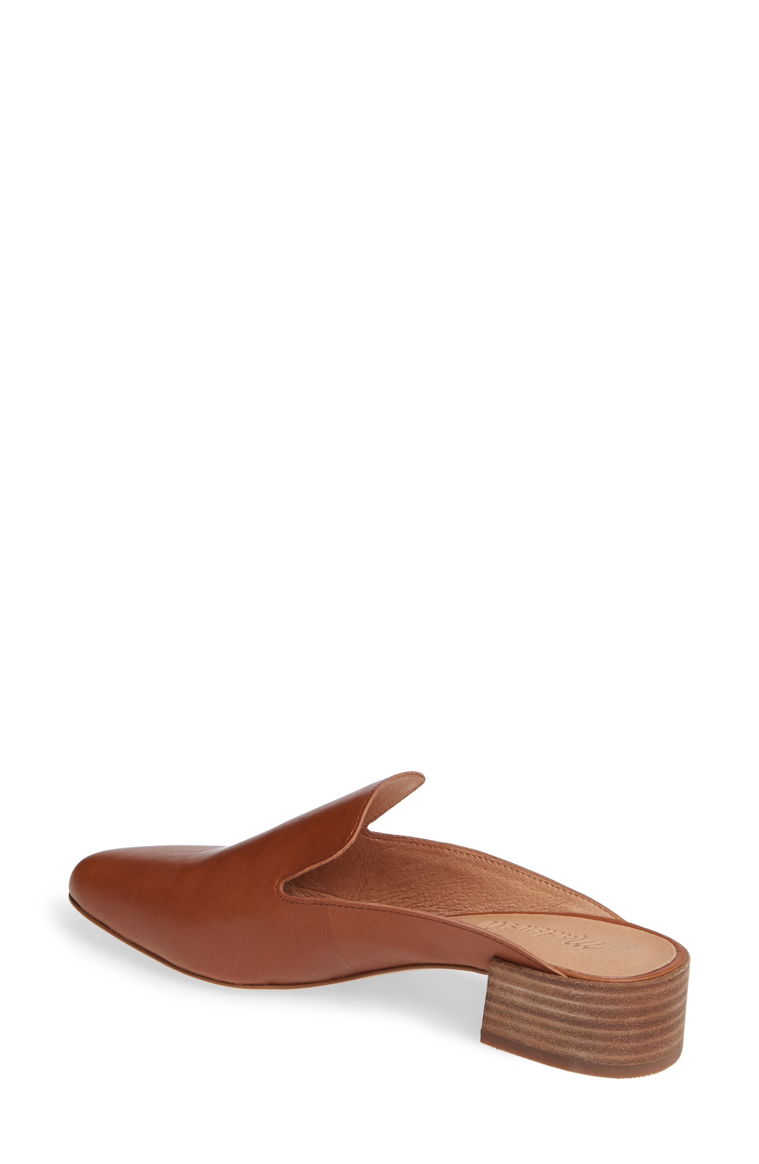 The Willa Loafer Mule,                             Alternate thumbnail 2, color,                             ENGLISH SADDLE VINTAGE LEATHER
