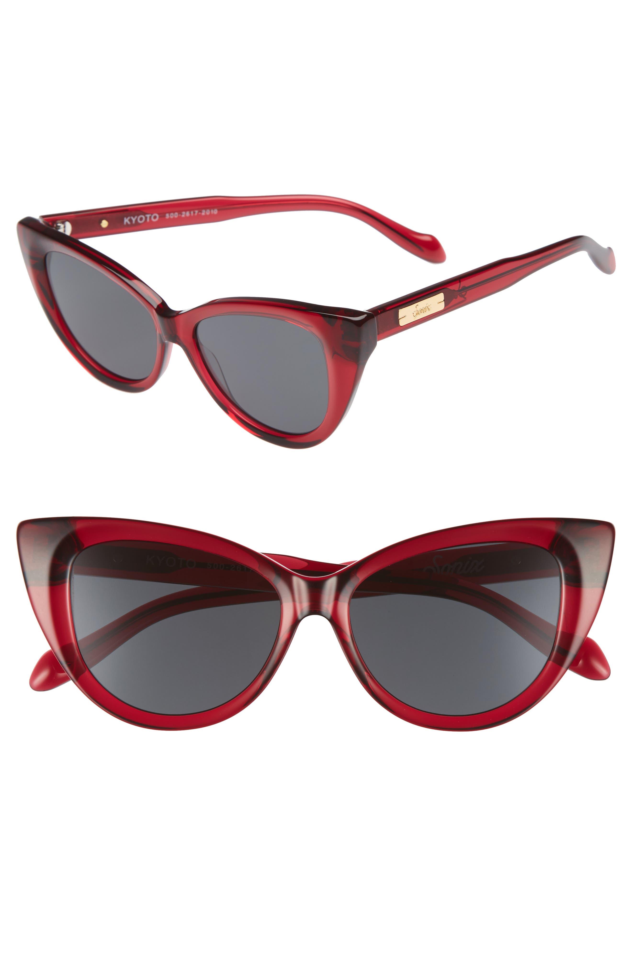 Kyoto 51mm Cat Eye Sunglasses,                             Main thumbnail 5, color,