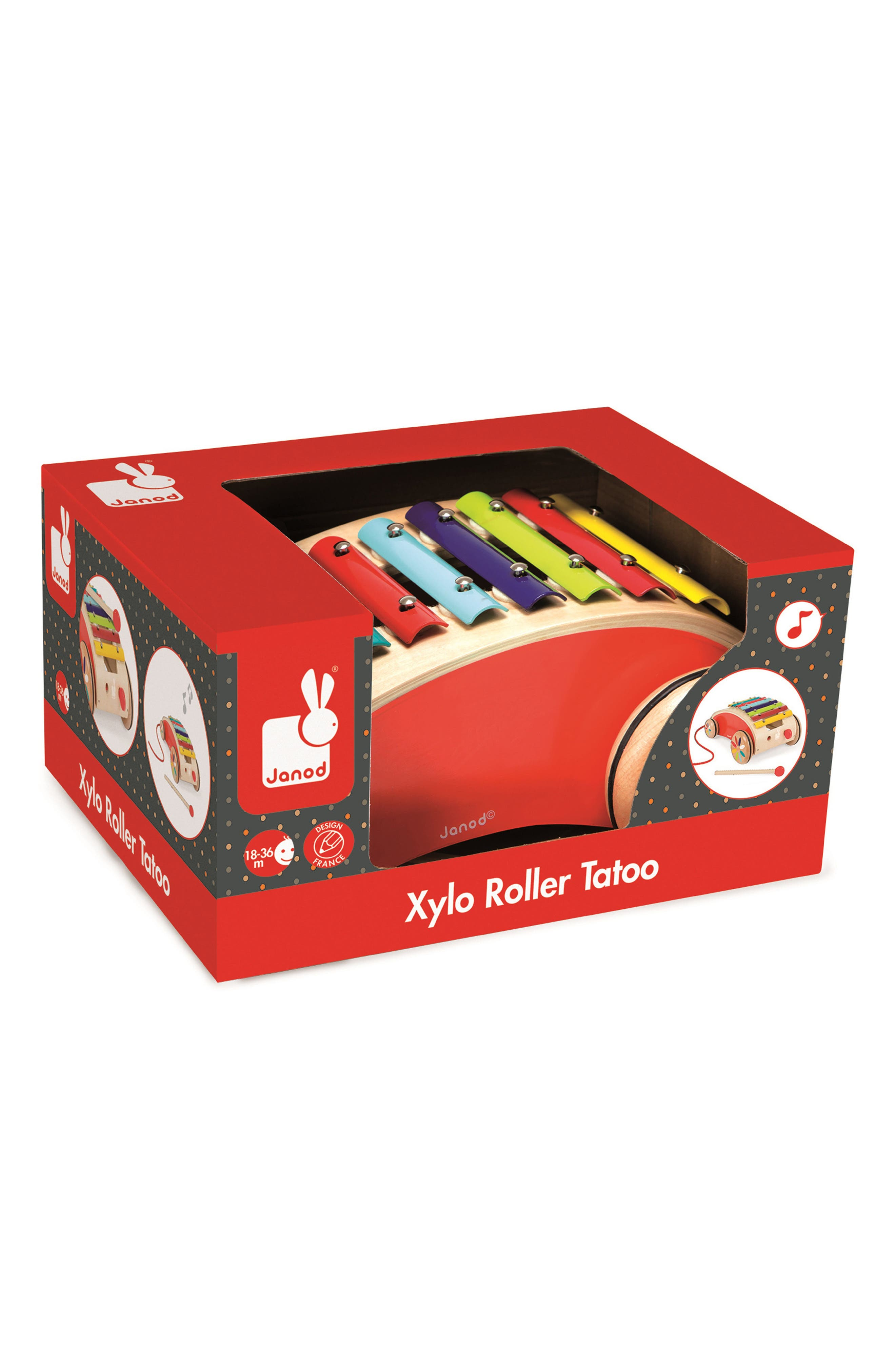 Xylophone Roller Toy,                             Alternate thumbnail 3, color,                             600