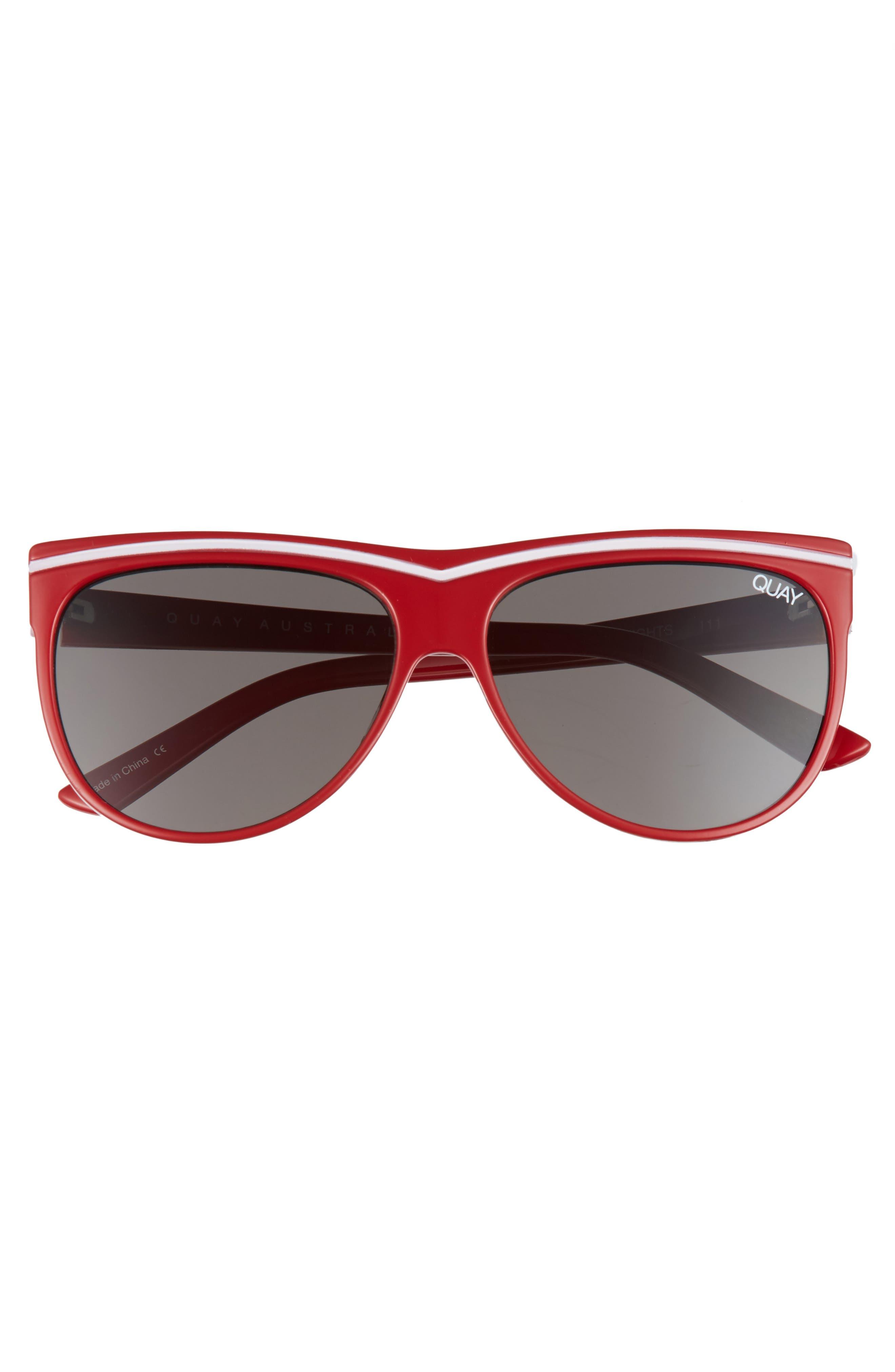 Hollywood Nights 62mm Sunglasses,                             Alternate thumbnail 9, color,