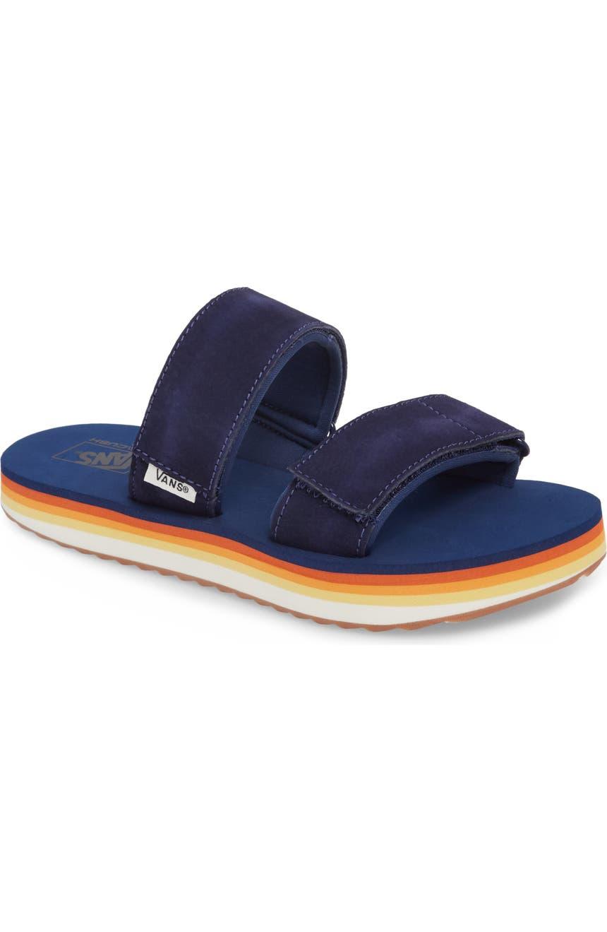 76ae74530ab Vans Cayucas Platform Slide Sandal (Women)
