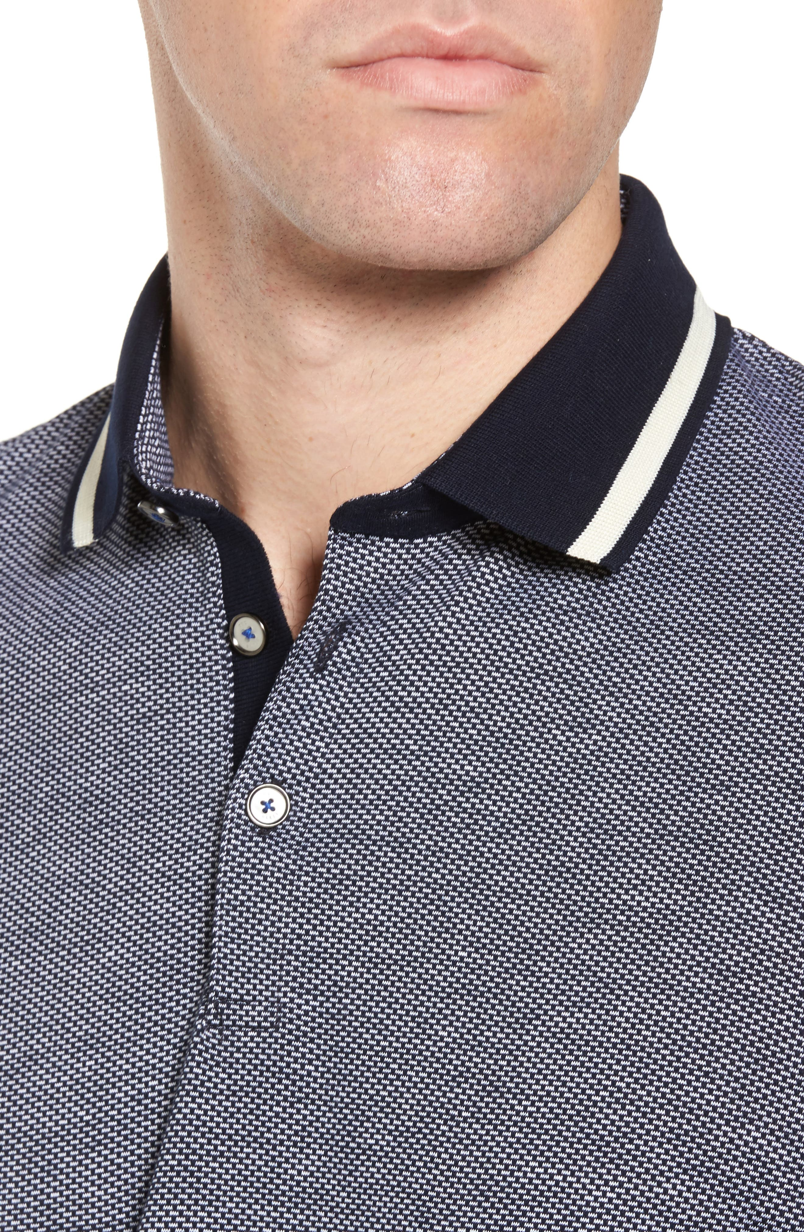 Poodal Stripe Jersey Polo,                             Alternate thumbnail 10, color,