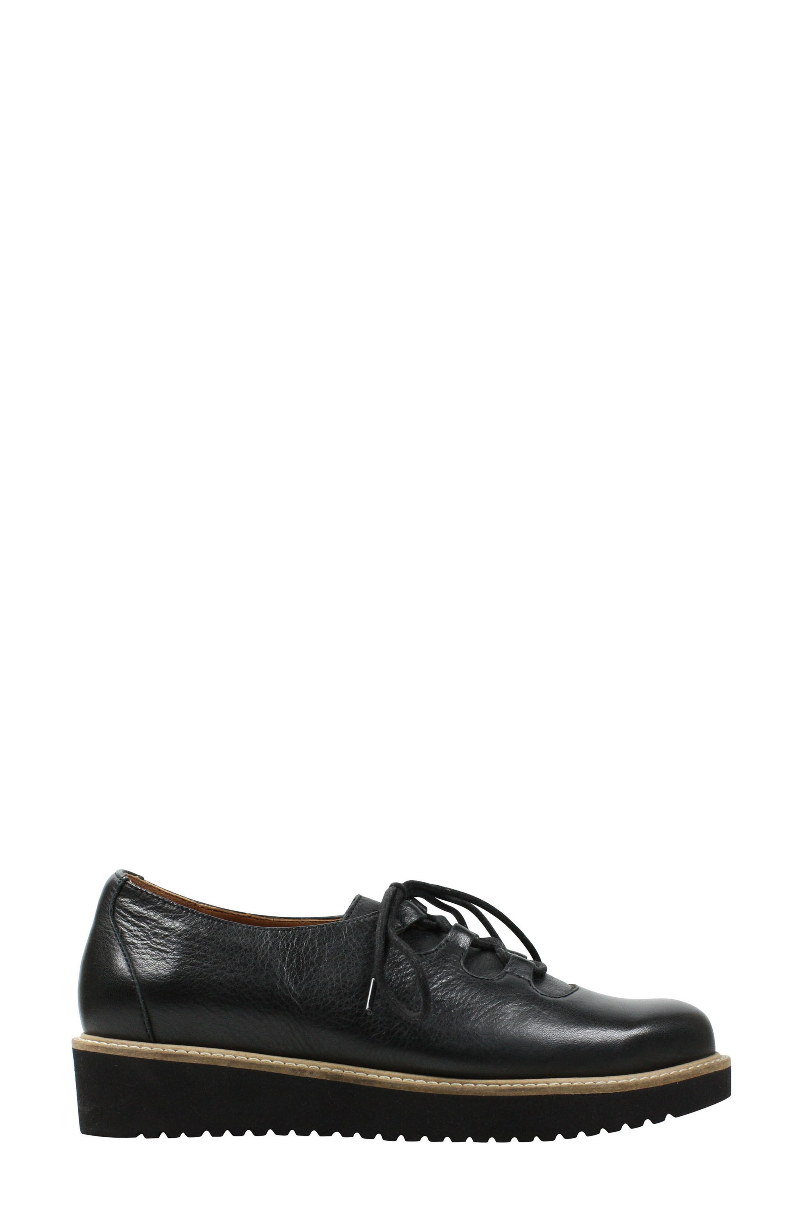 Ximena Loafer,                             Alternate thumbnail 2, color,                             BLACK LEATHER