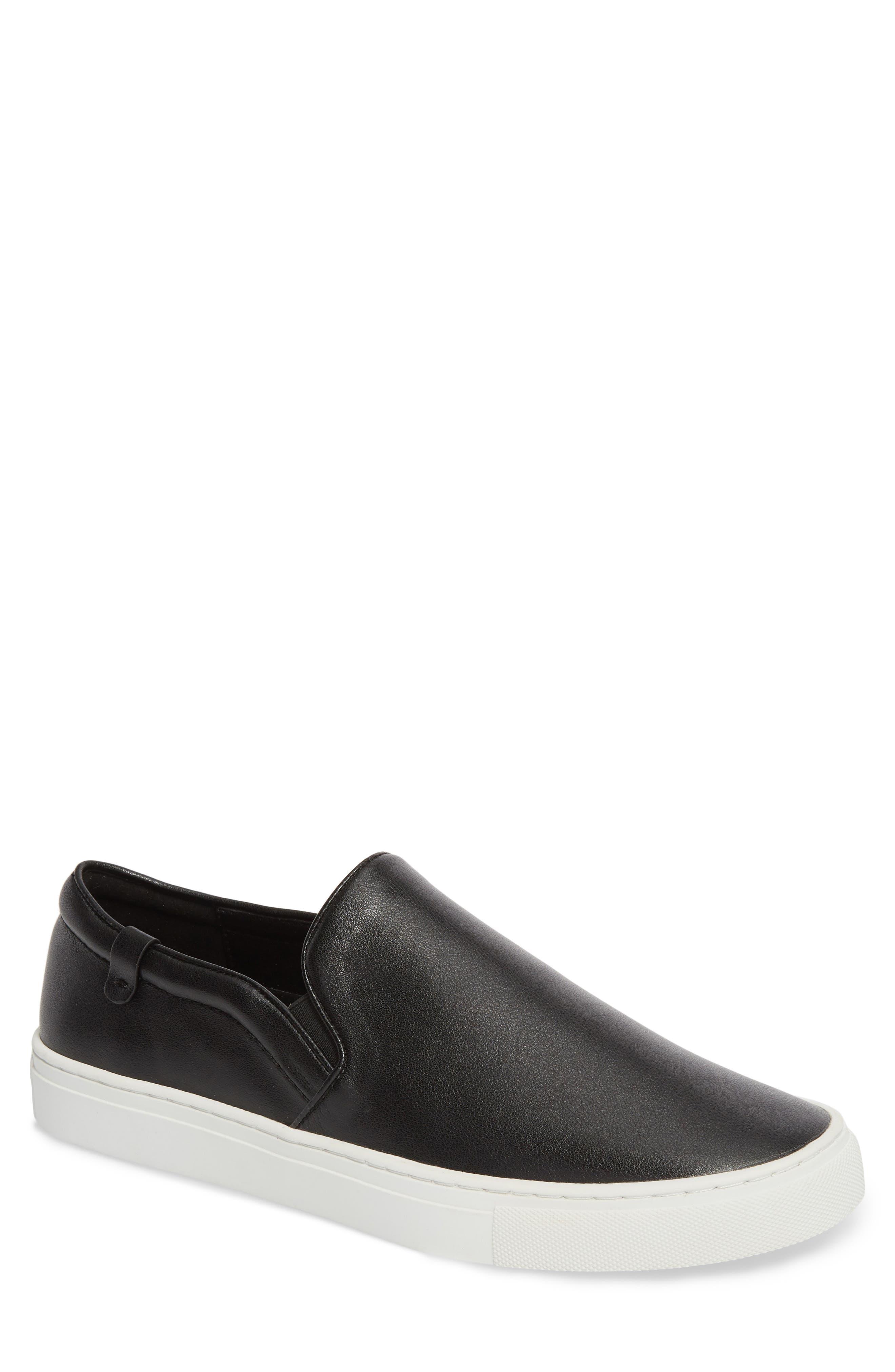 Original Slip-On Sneaker,                             Main thumbnail 1, color,                             BLACK