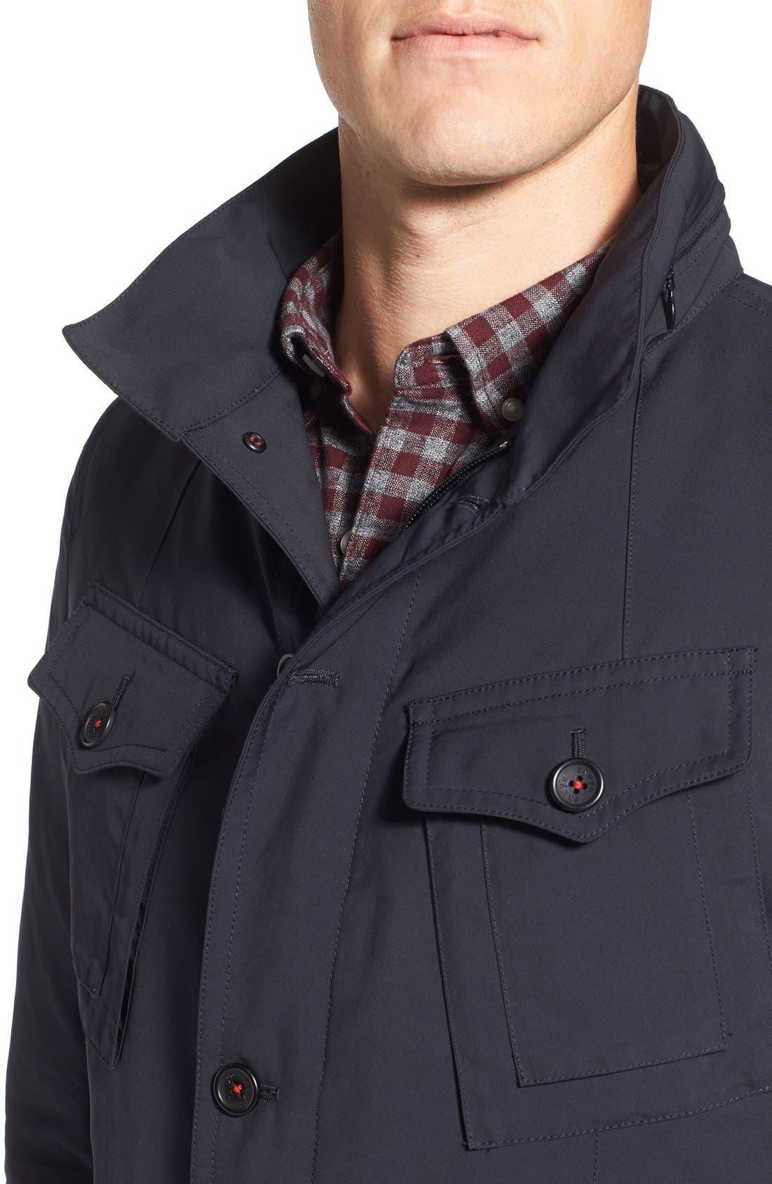 Fashion House Down Military Jacket,                             Alternate thumbnail 4, color,                             029