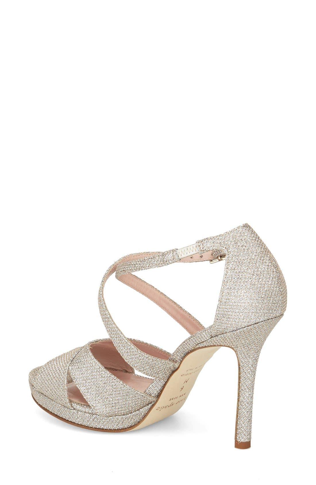 frances platform sandal,                             Alternate thumbnail 4, color,