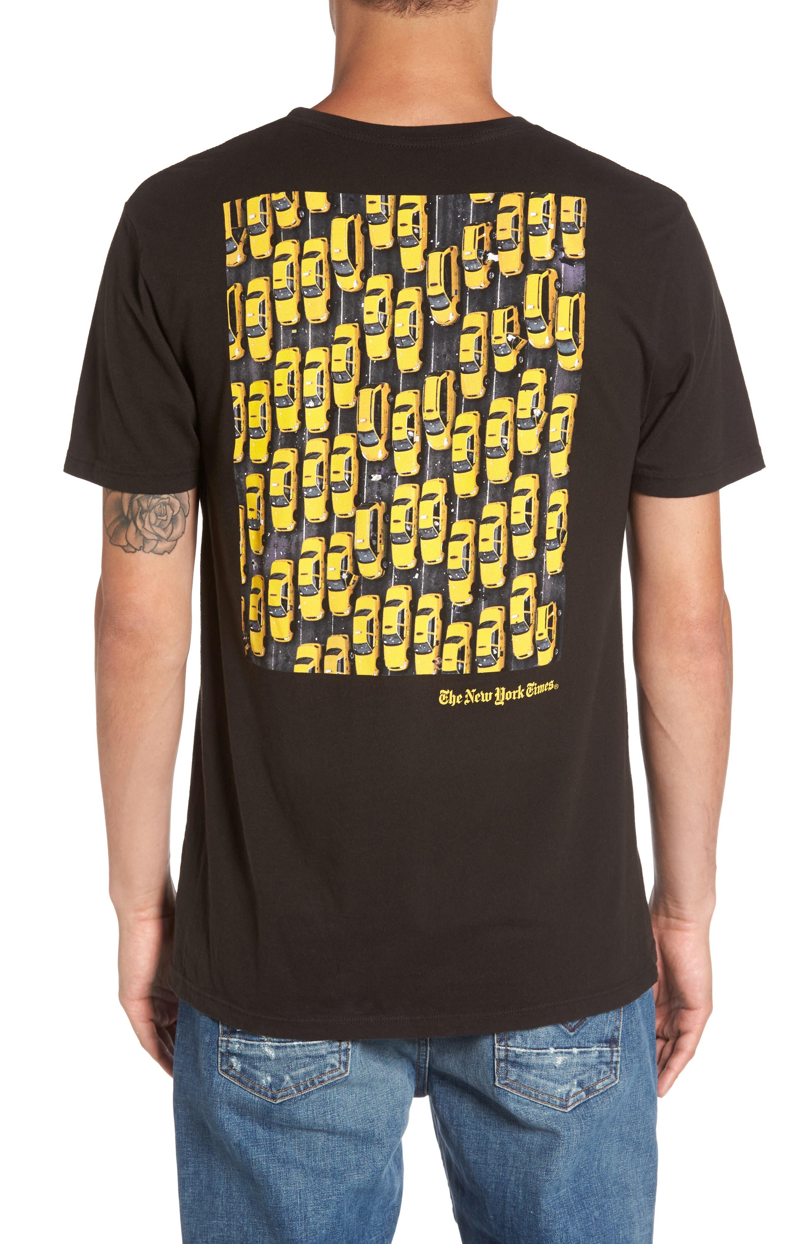 New York Taxi T-Shirt,                             Alternate thumbnail 2, color,                             020