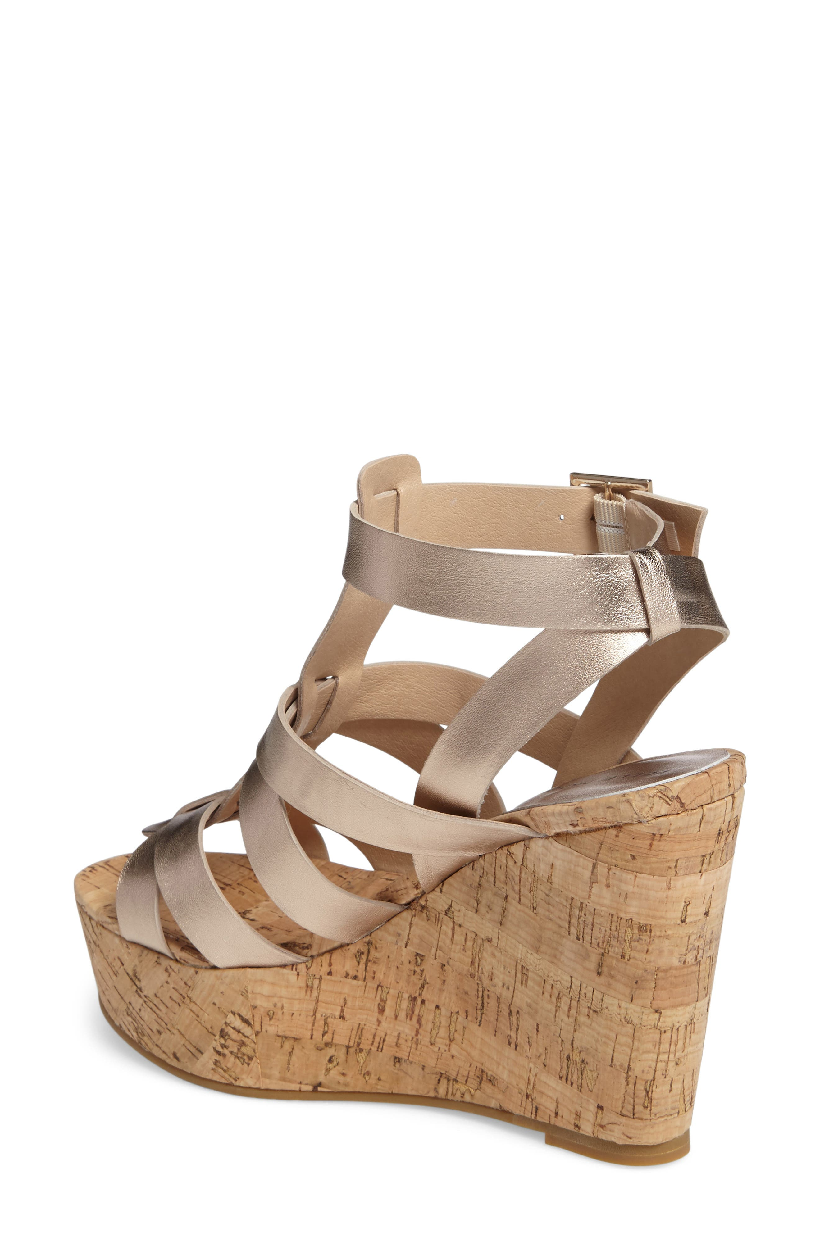 Rayjay Wedge Sandal,                             Alternate thumbnail 8, color,