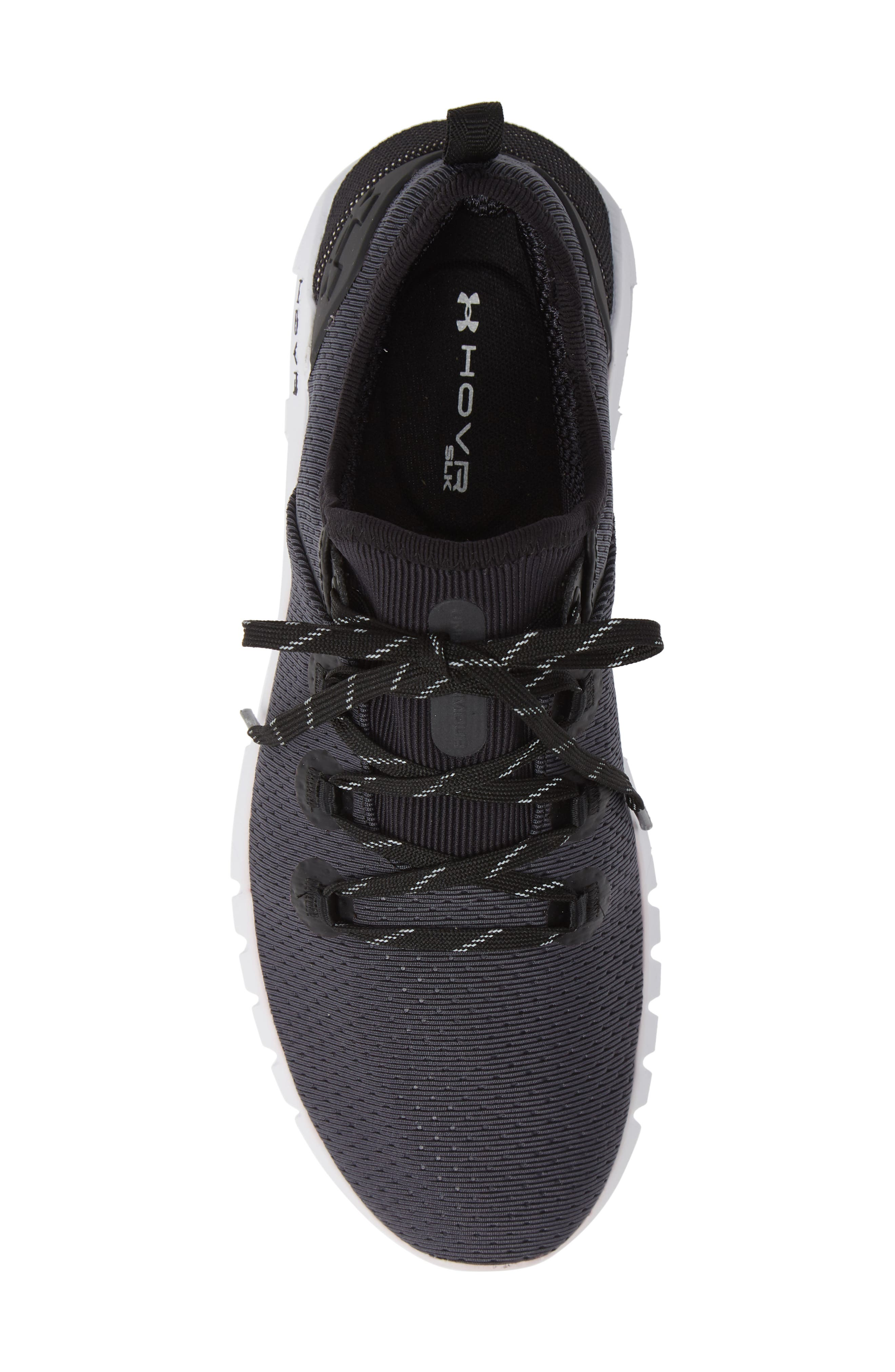 HOVR<sup>™</sup> SLK Running Shoe,                             Alternate thumbnail 5, color,                             BLACK/ WHITE / BLACK