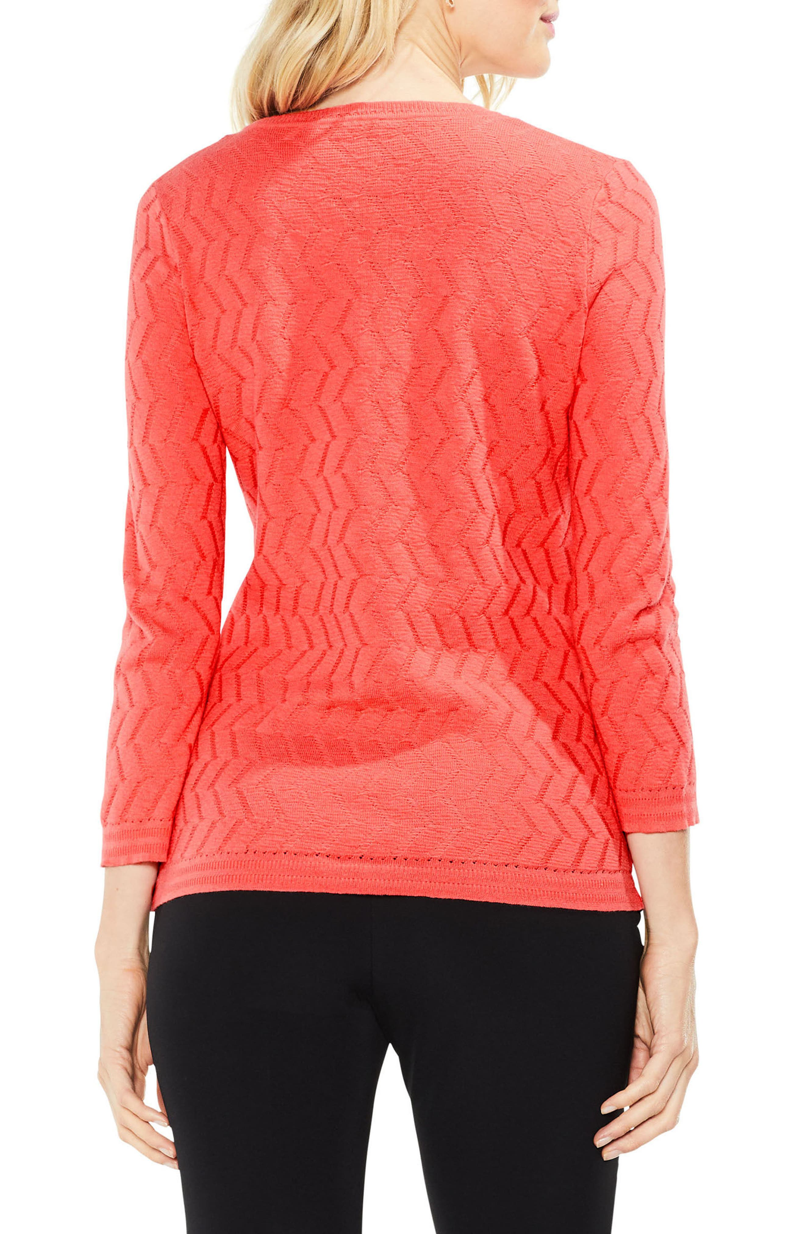 Textured Stitch Sweater,                             Alternate thumbnail 6, color,
