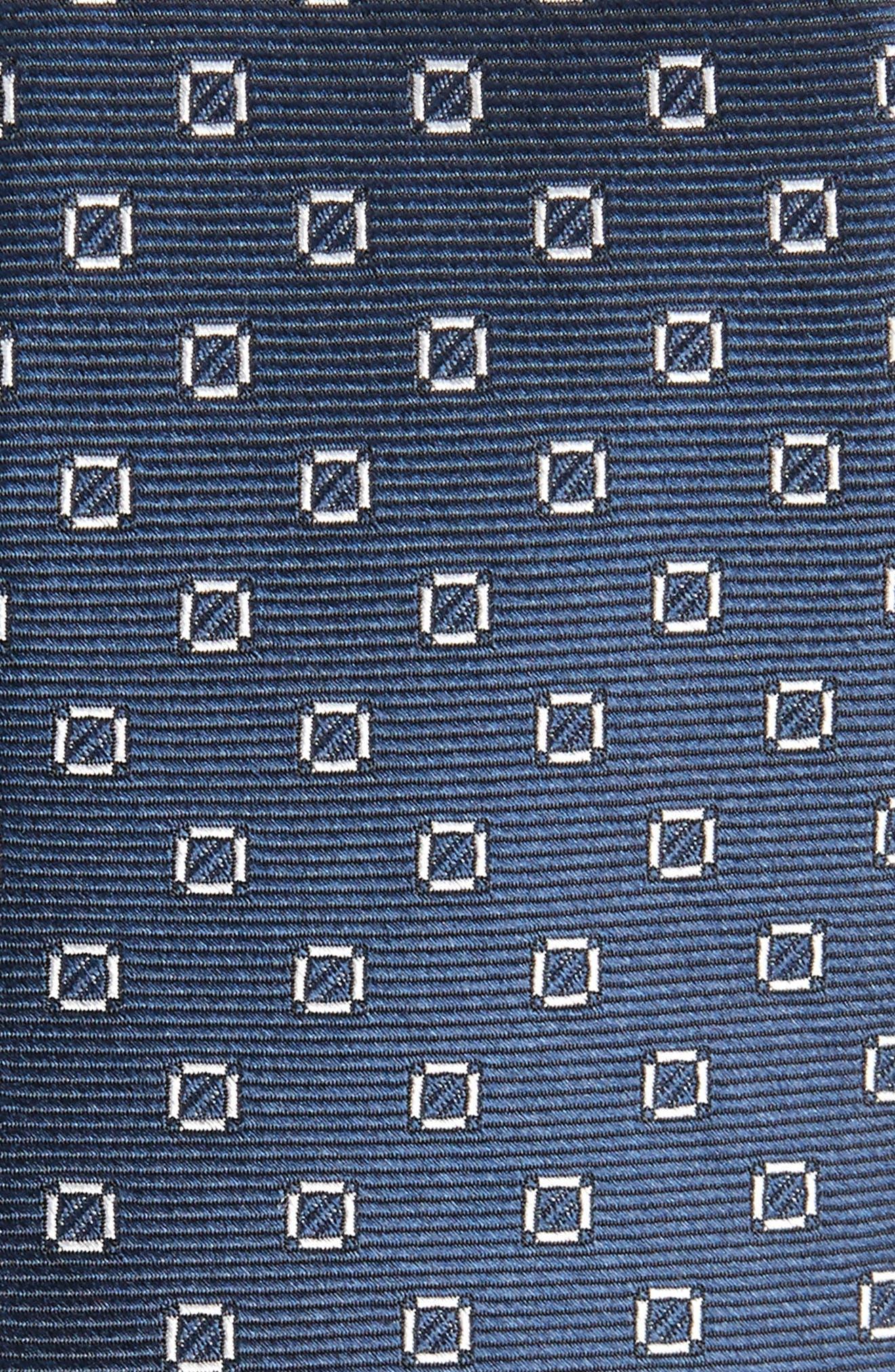 Junction Geo Silk Skinny Tie,                             Alternate thumbnail 2, color,                             410