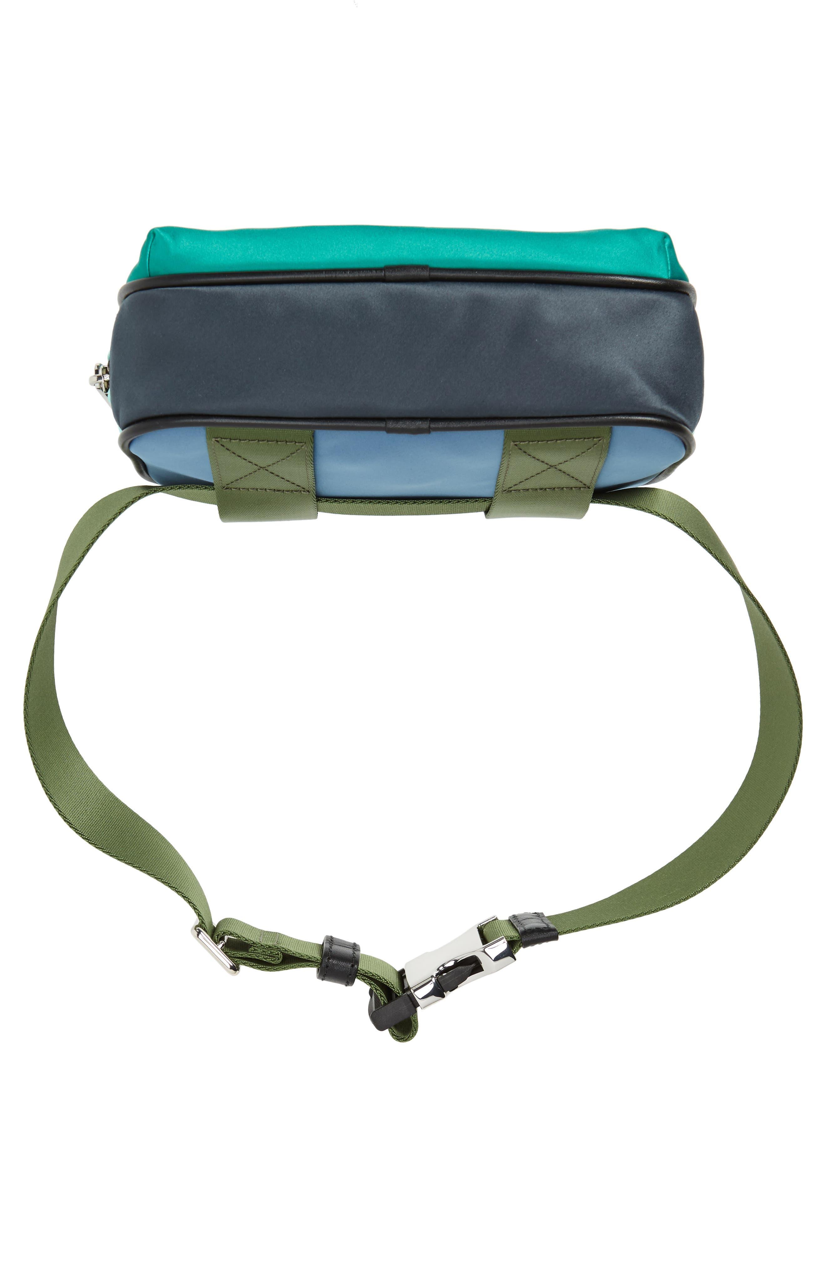 Sport Colorblock Belt Bag,                             Alternate thumbnail 7, color,                             332