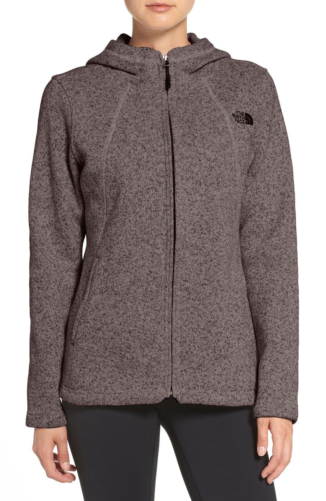 'Crescent' Fleece Jacket,                             Main thumbnail 3, color,