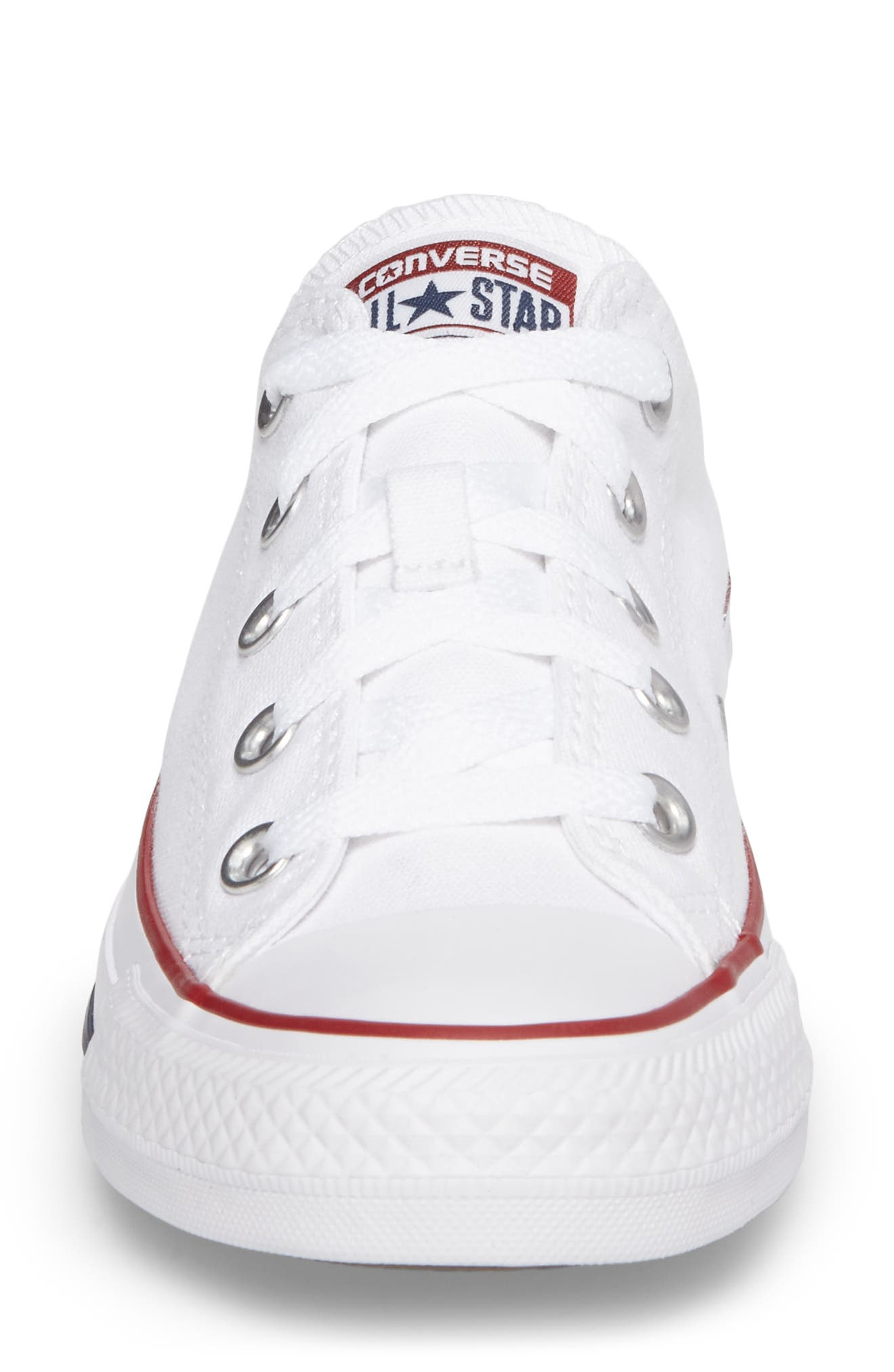 Chuck Taylor<sup>®</sup> Low Top Sneaker,                             Alternate thumbnail 5, color,                             OPTIC WHITE