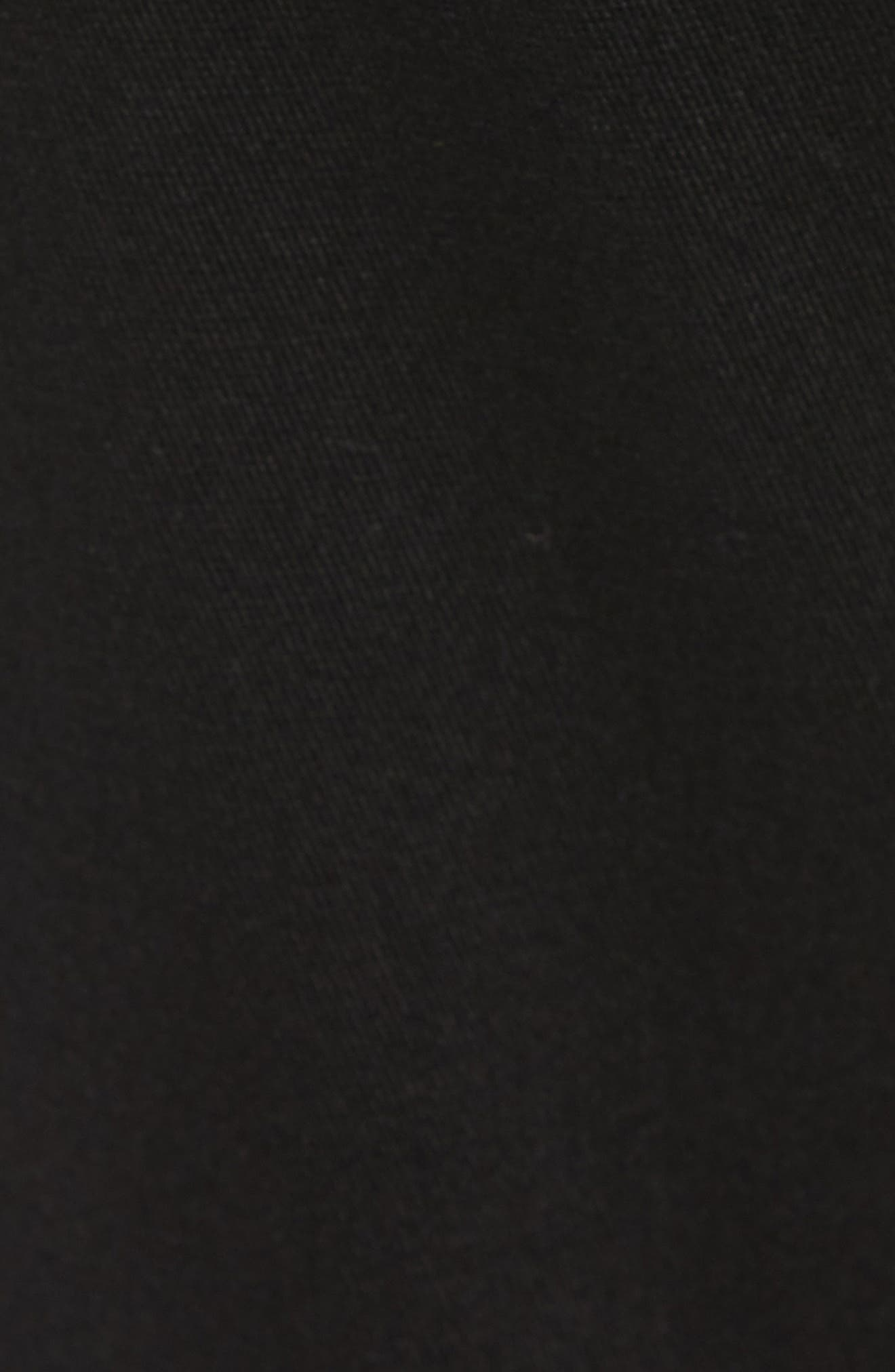Crossroad Slim Fit Pants,                             Alternate thumbnail 5, color,                             BLACK