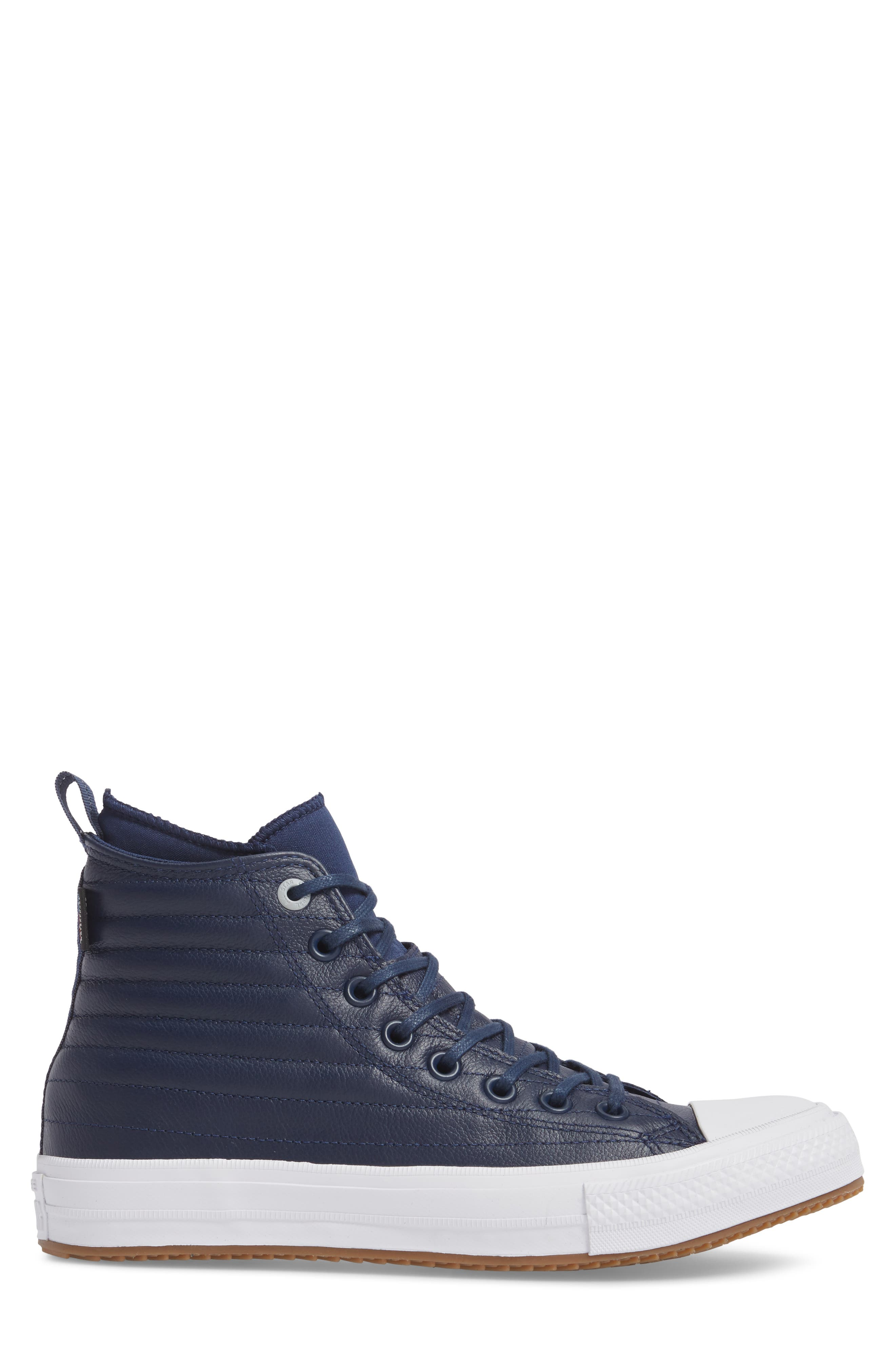 Chuck Taylor<sup>®</sup> All Star<sup>®</sup> Waterproof Quilted Sneaker,                             Alternate thumbnail 6, color,