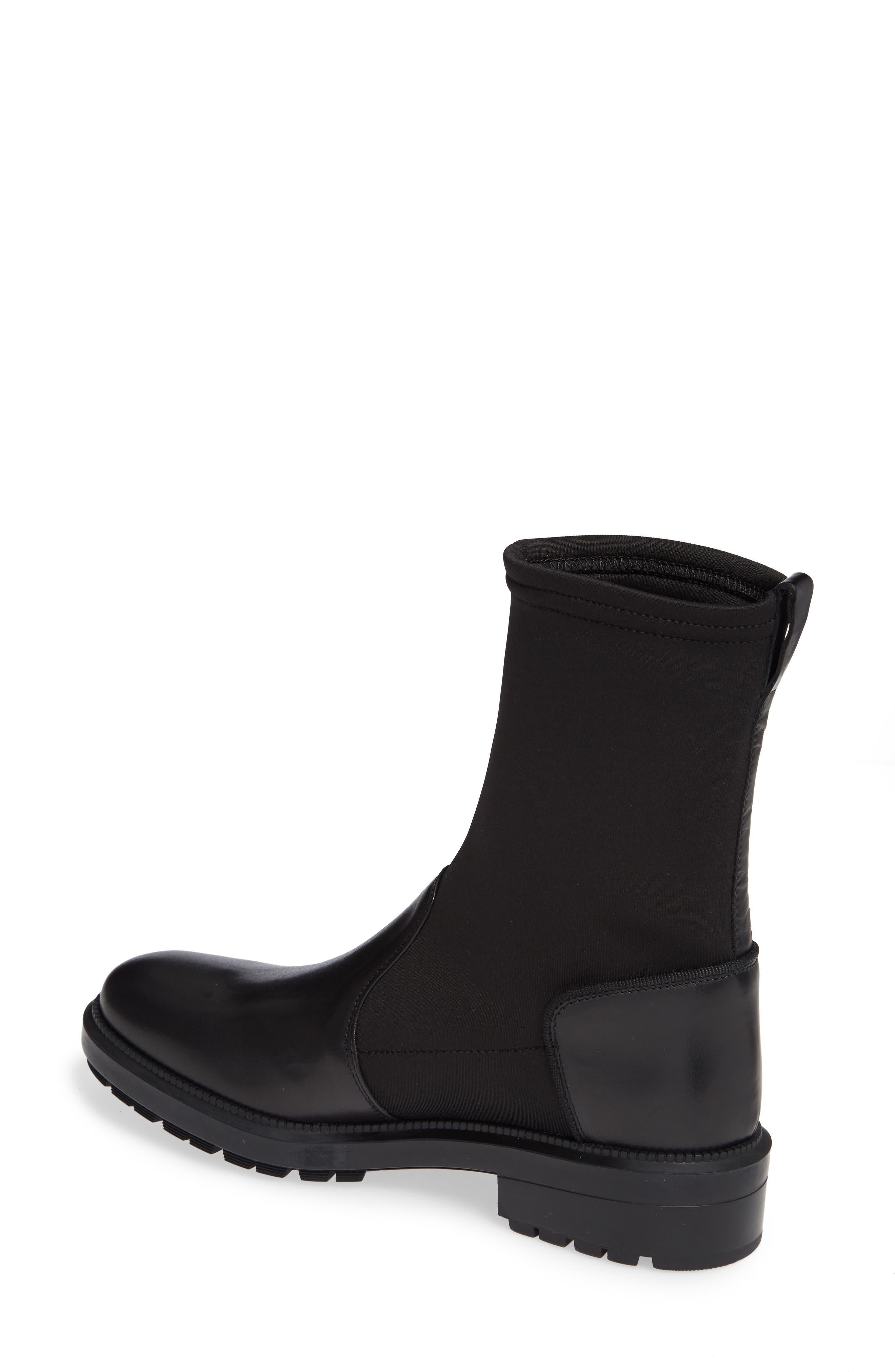 Leoda Ankle Boot,                             Alternate thumbnail 2, color,                             BLACK