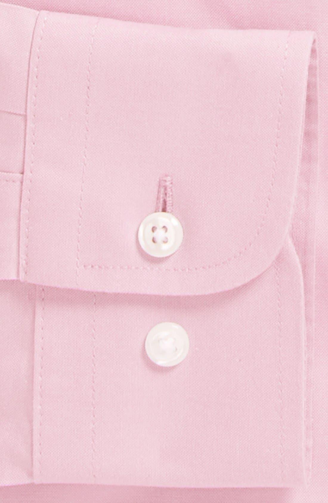 Smartcare<sup>™</sup> Trim Fit Solid Dress Shirt,                             Alternate thumbnail 37, color,