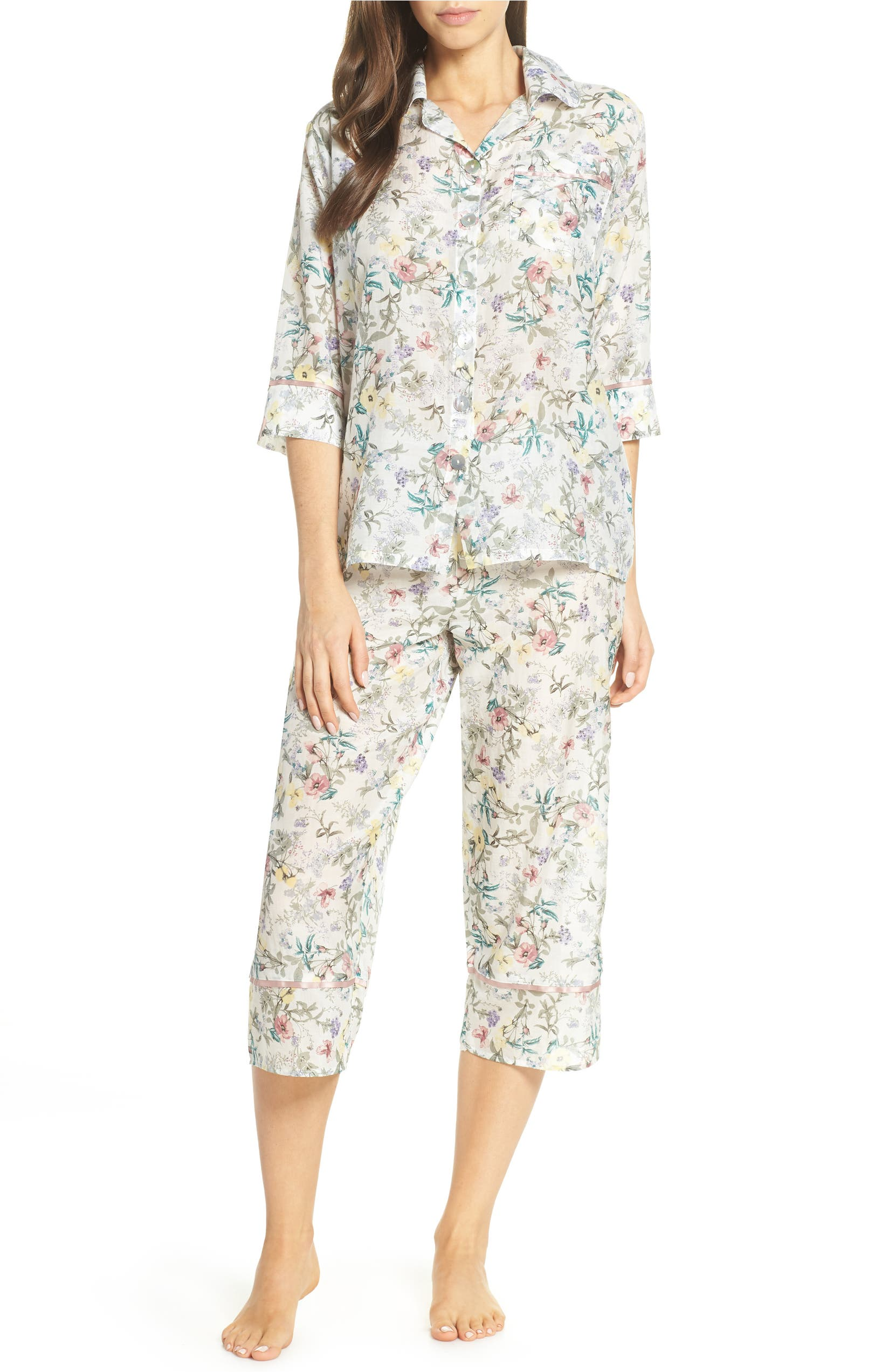 Papinelle Emmy Cotton   Silk Pajamas  c332cb20b