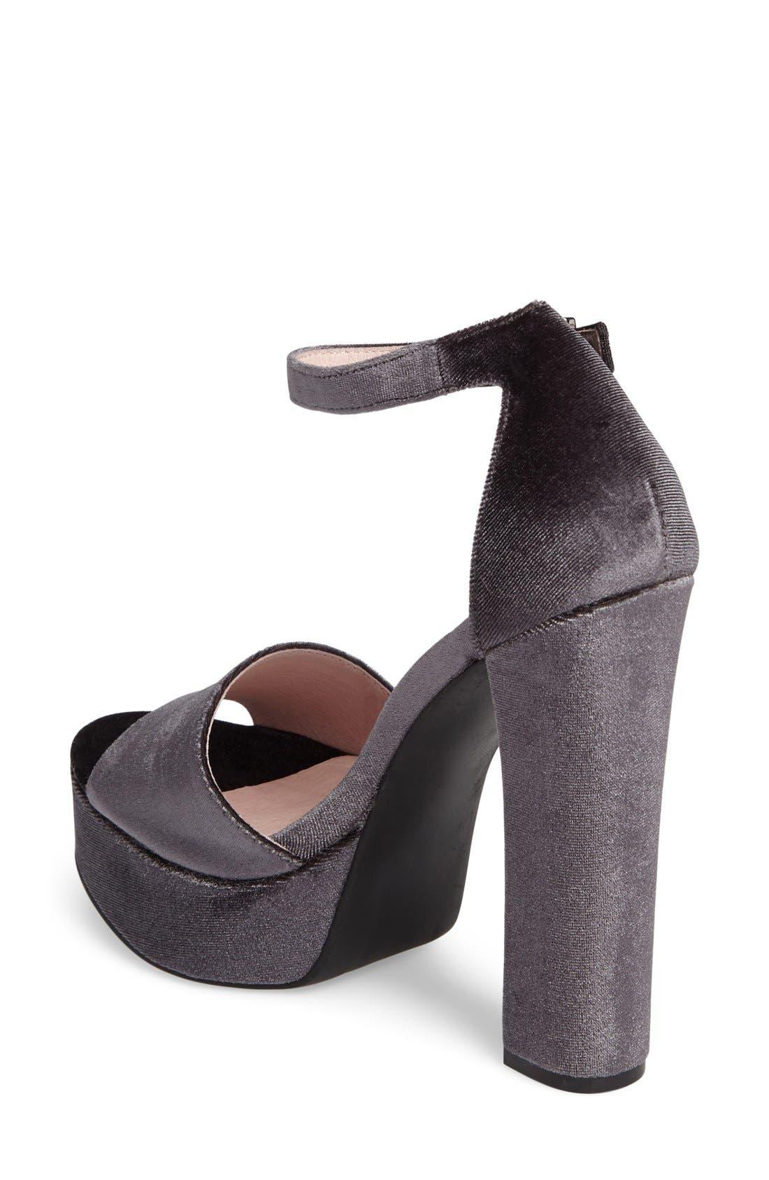Ace Platform Sandal,                             Alternate thumbnail 5, color,                             035