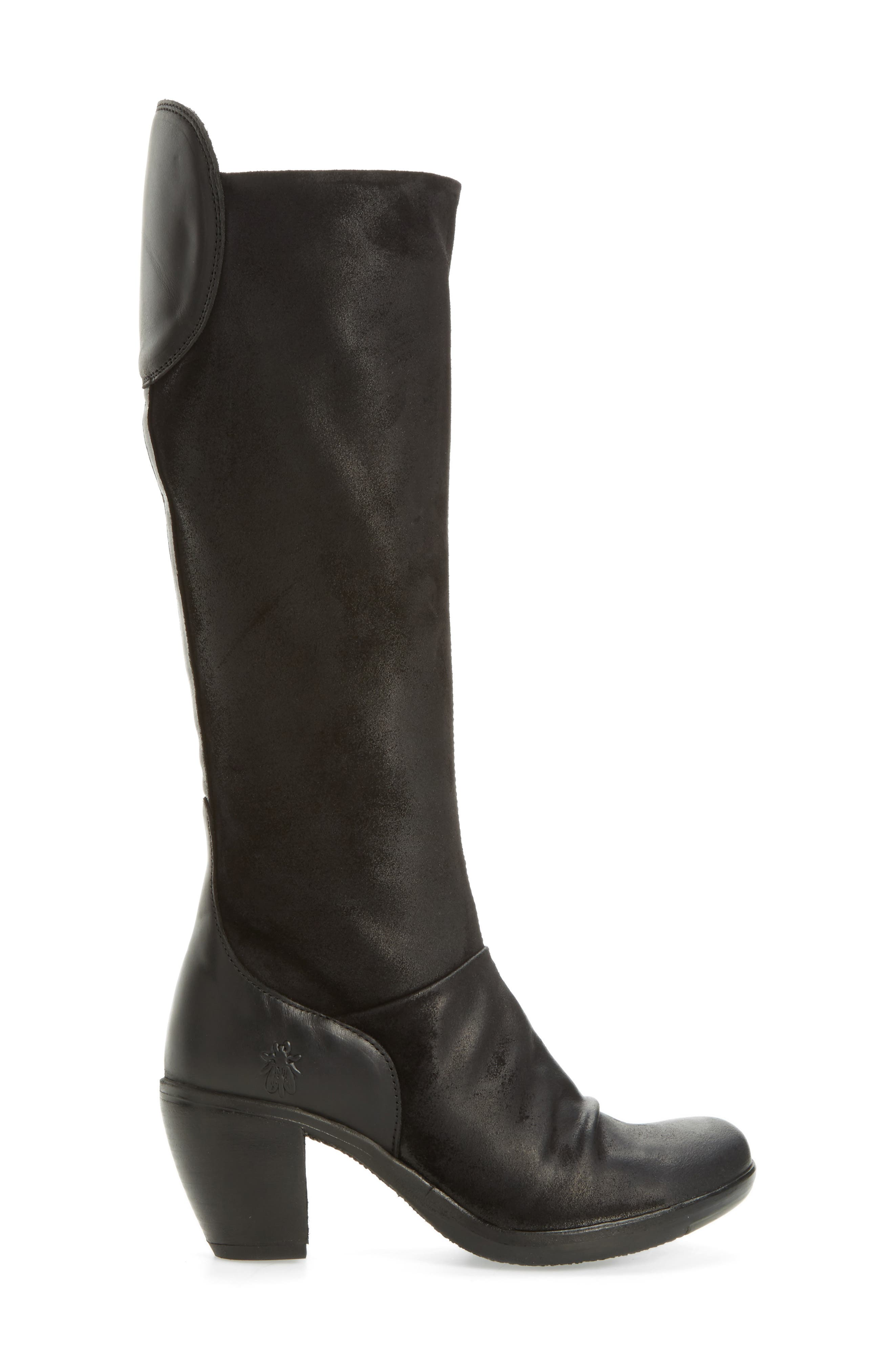 Hean Knee High Boot,                             Alternate thumbnail 3, color,