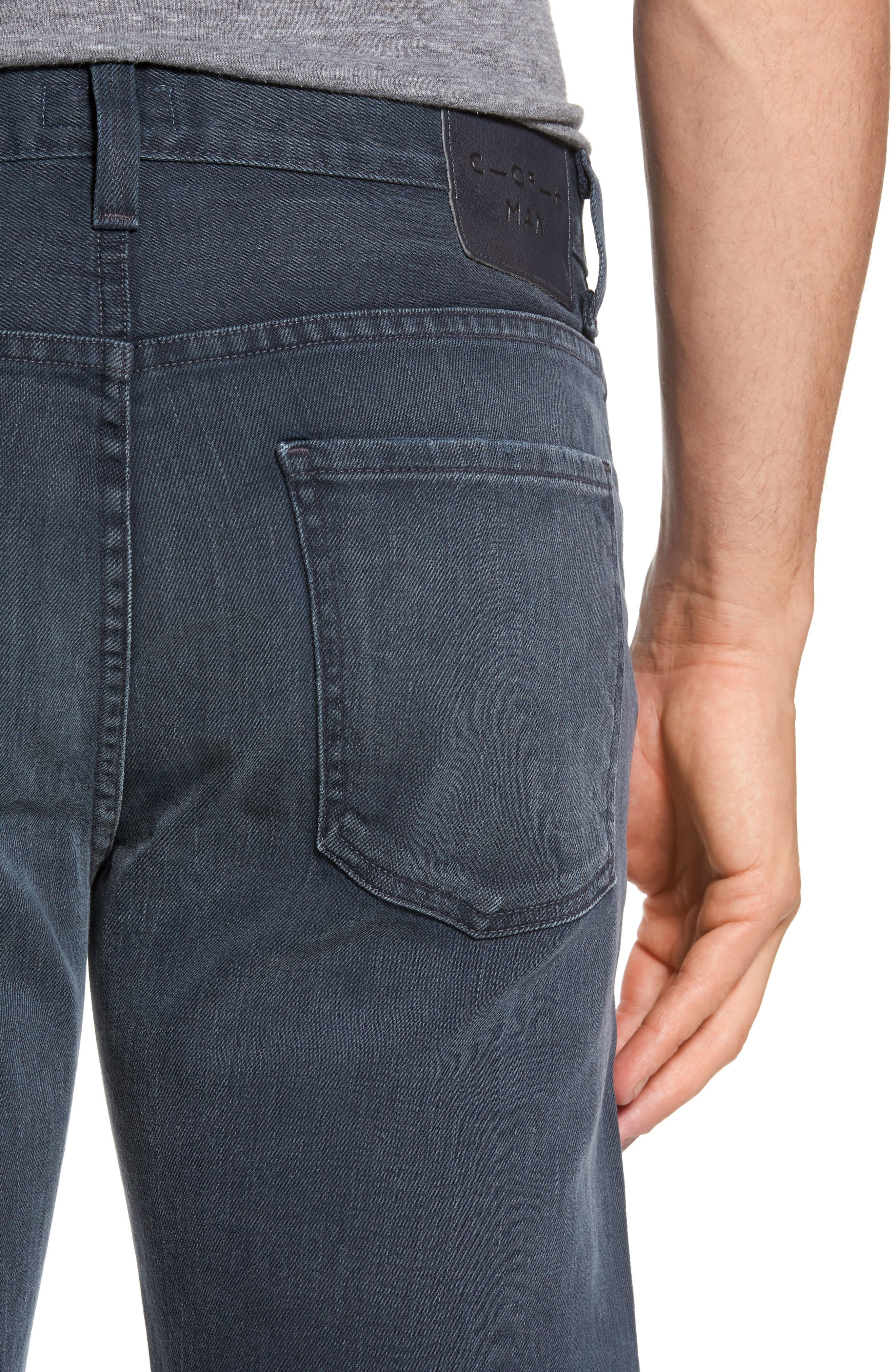 Sid Straight Leg Jeans,                             Alternate thumbnail 4, color,                             BLUE SKIES