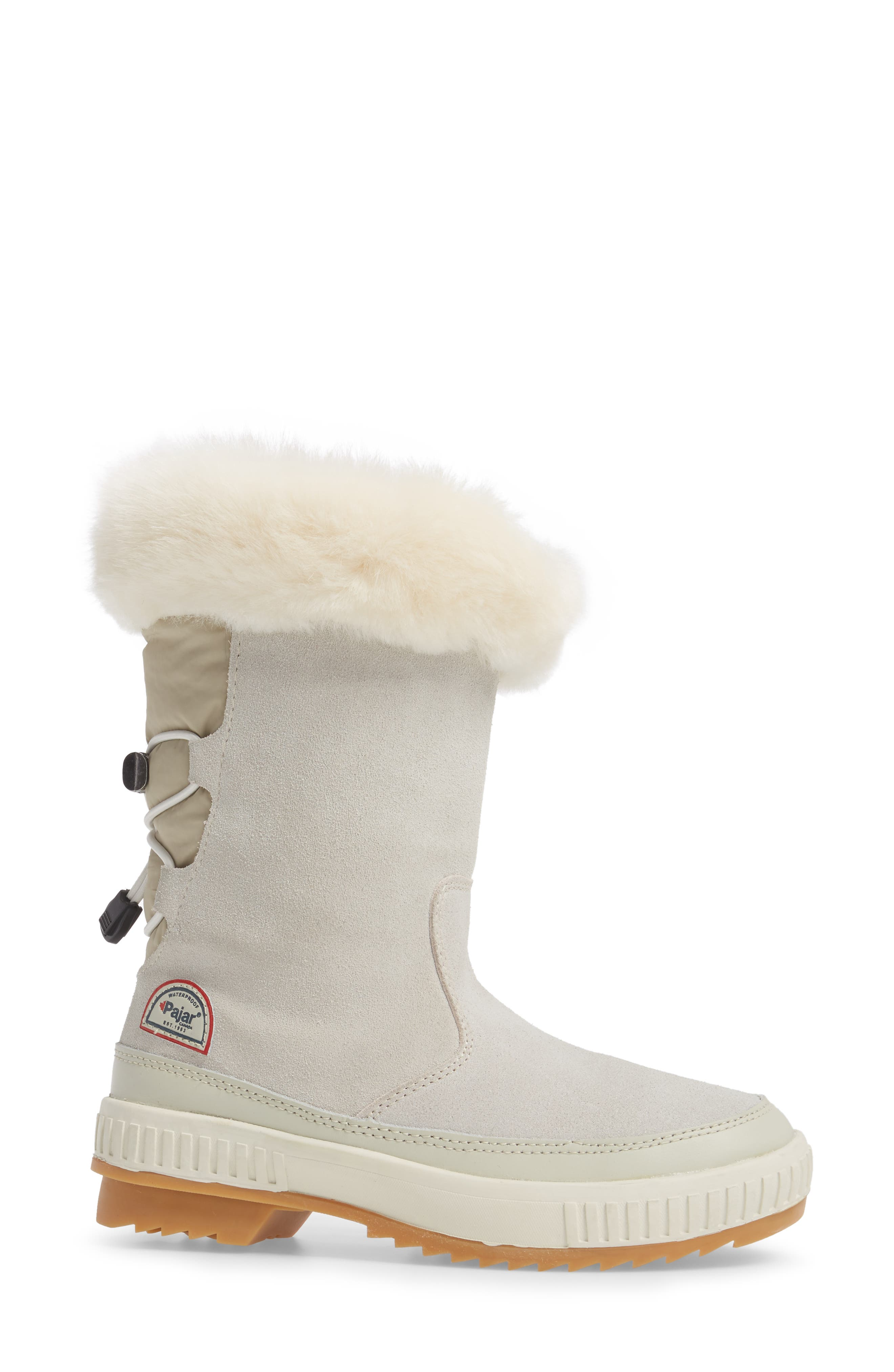 Kady Waterproof Insulated Winter Boot with Plush Cuff,                             Alternate thumbnail 3, color,                             100