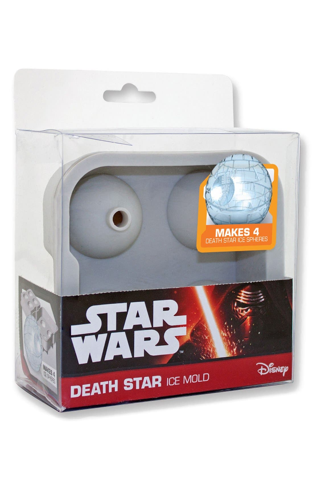DC COMICS,                             ICUP 'Star Wars - Death Star' Ice Mold,                             Main thumbnail 1, color,                             020