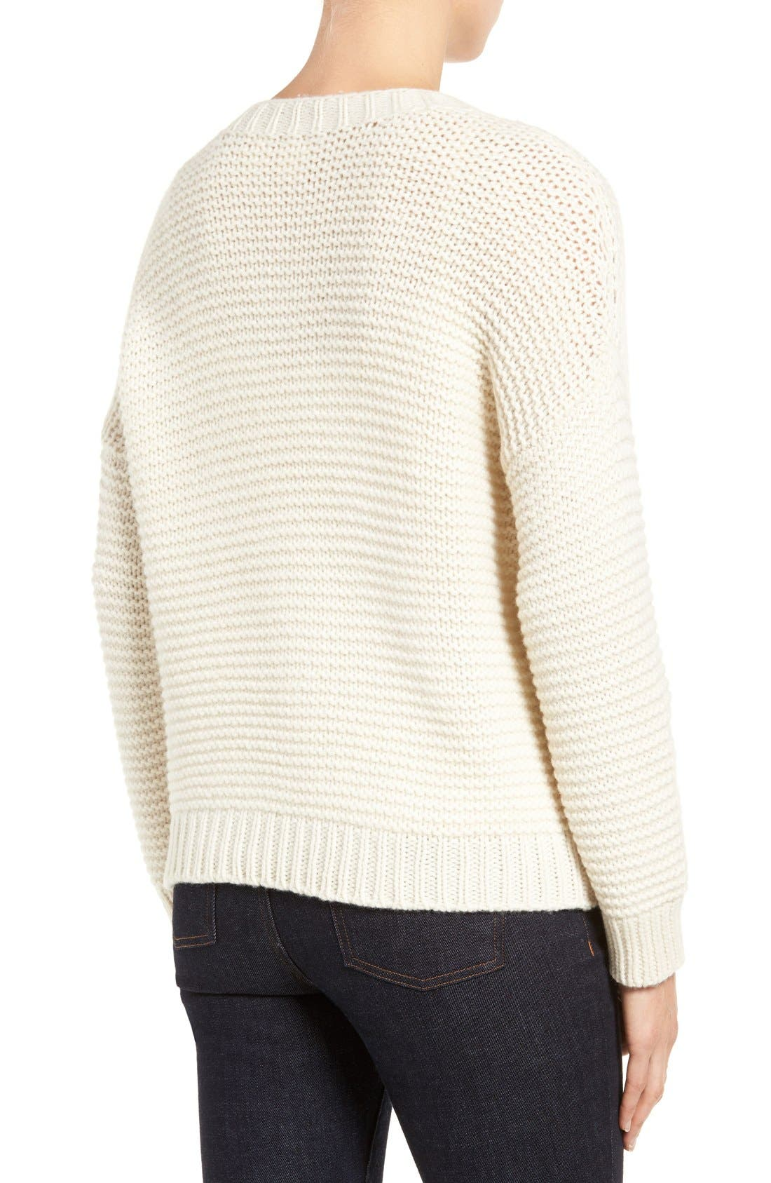 Lofty Recycled Cashmere Blend Sweater,                             Alternate thumbnail 2, color,                             103