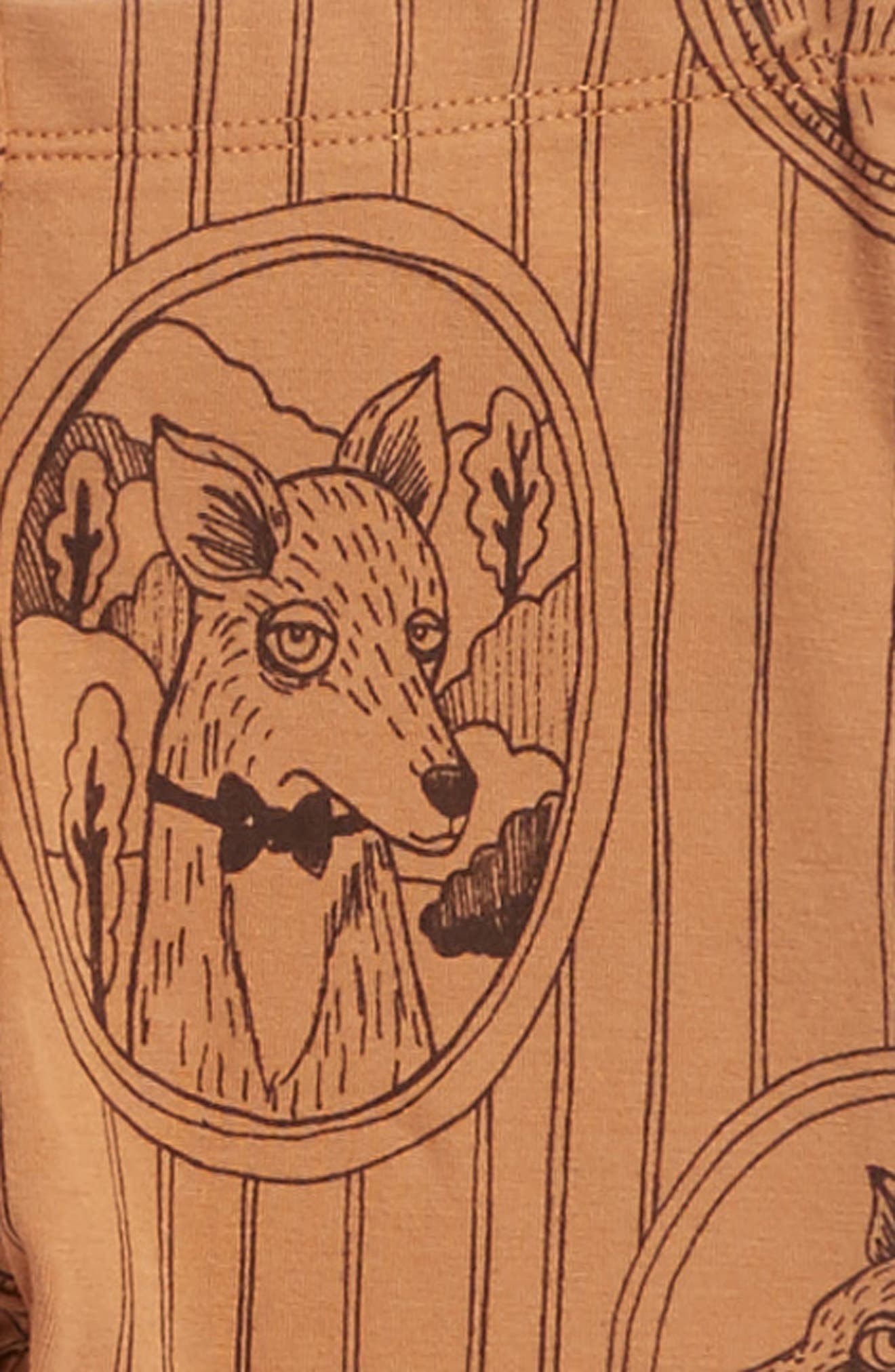 Fox Family Leggings,                             Alternate thumbnail 2, color,                             216
