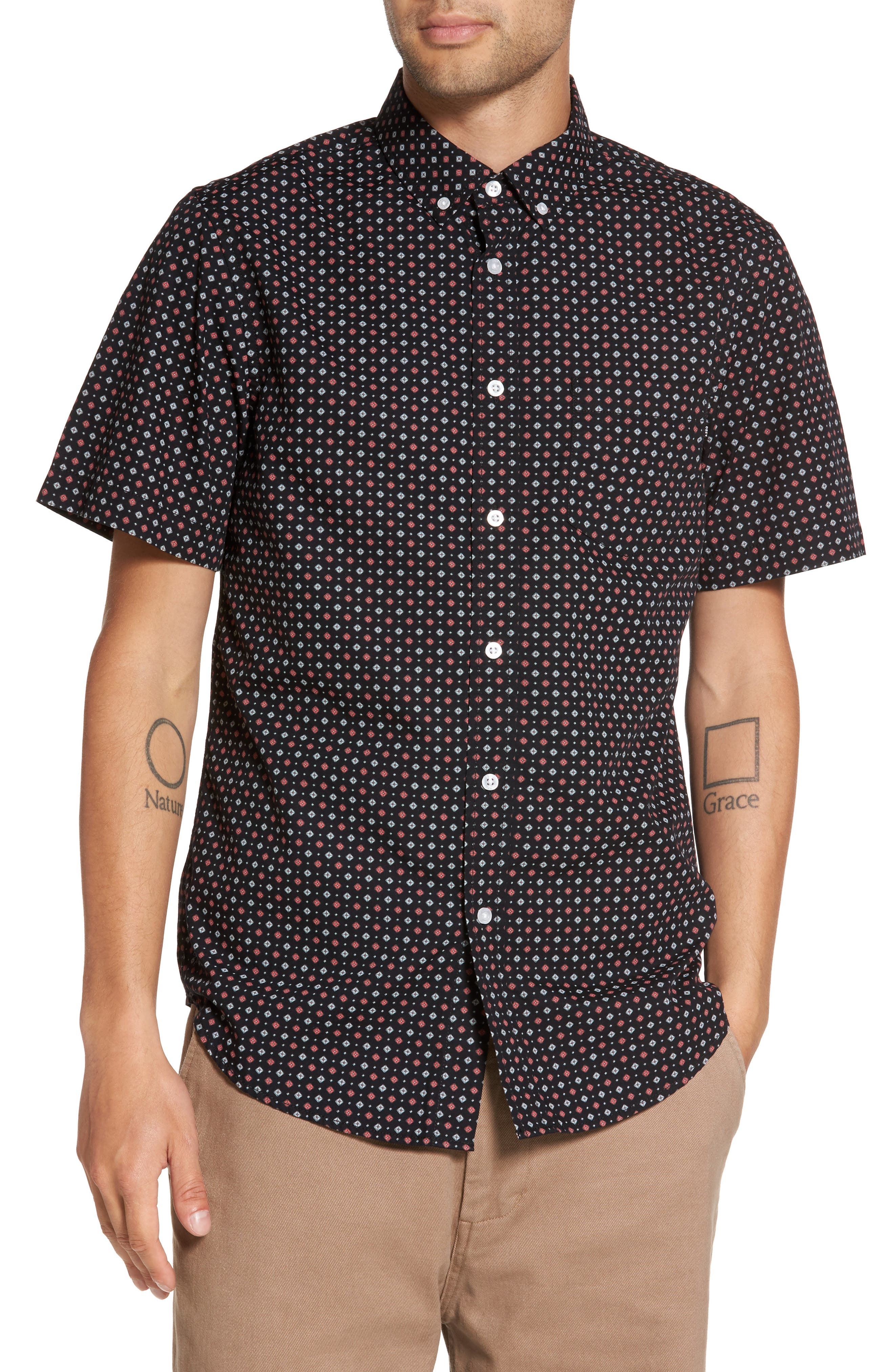Sterling Woven Shirt,                             Main thumbnail 1, color,