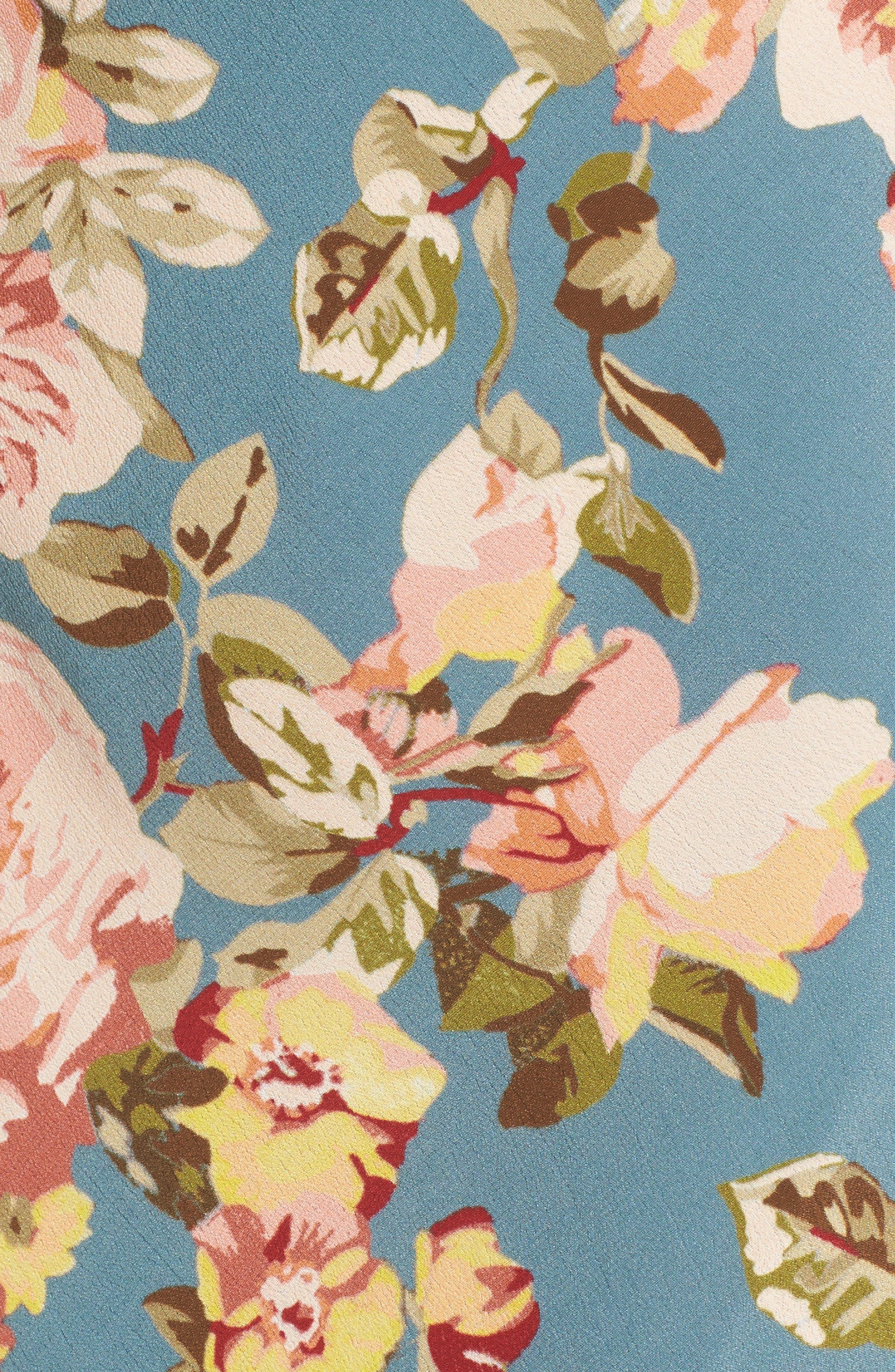 Ozark Midi Dress,                             Alternate thumbnail 5, color,