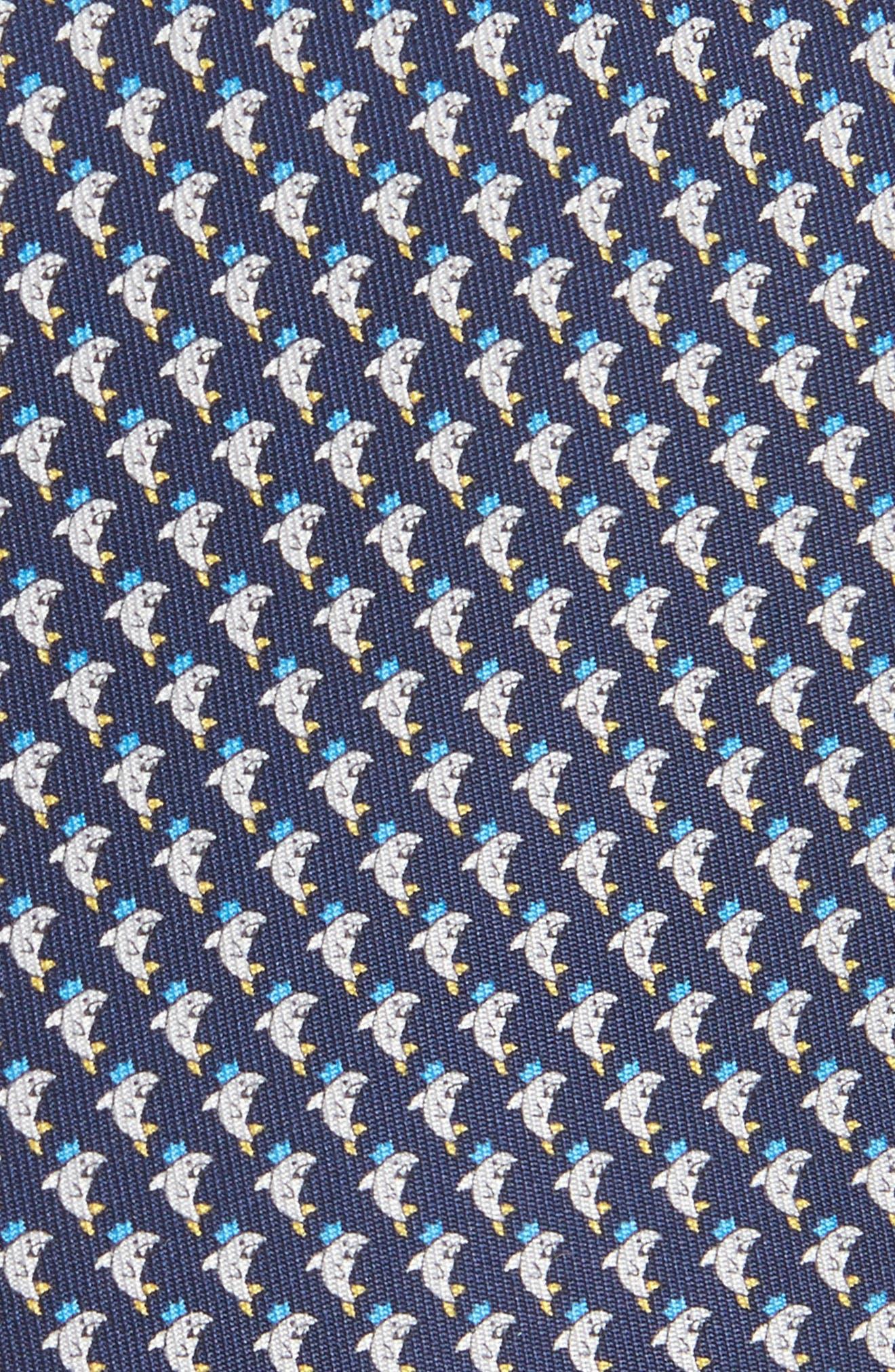 Eraldo Print Silk Tie,                             Alternate thumbnail 2, color,                             491