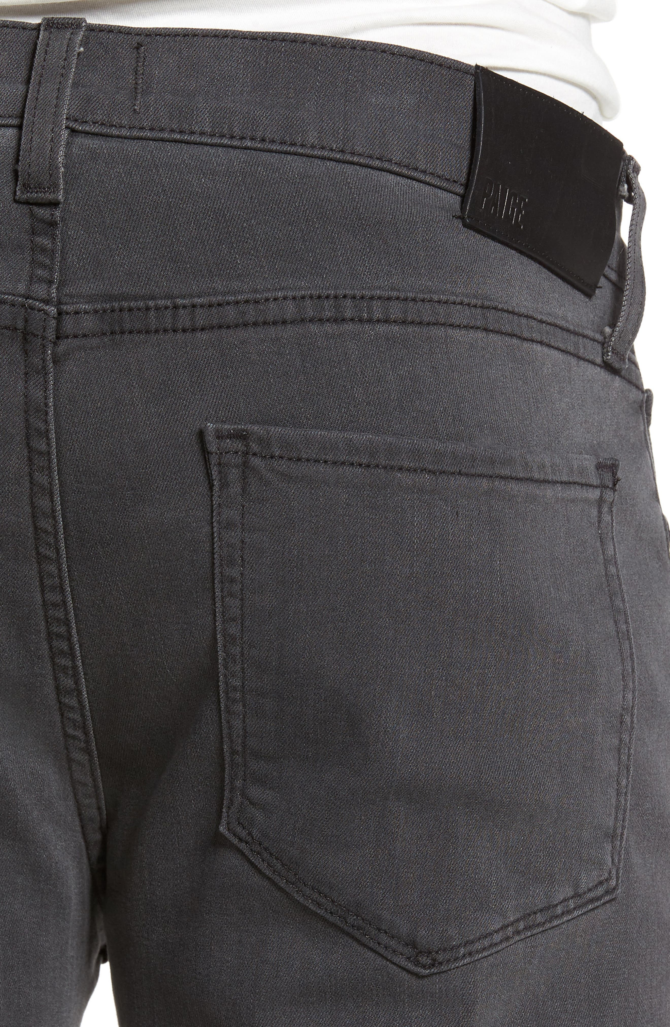 Transcend - Lennox Slim Fit Jeans,                             Alternate thumbnail 4, color,                             020