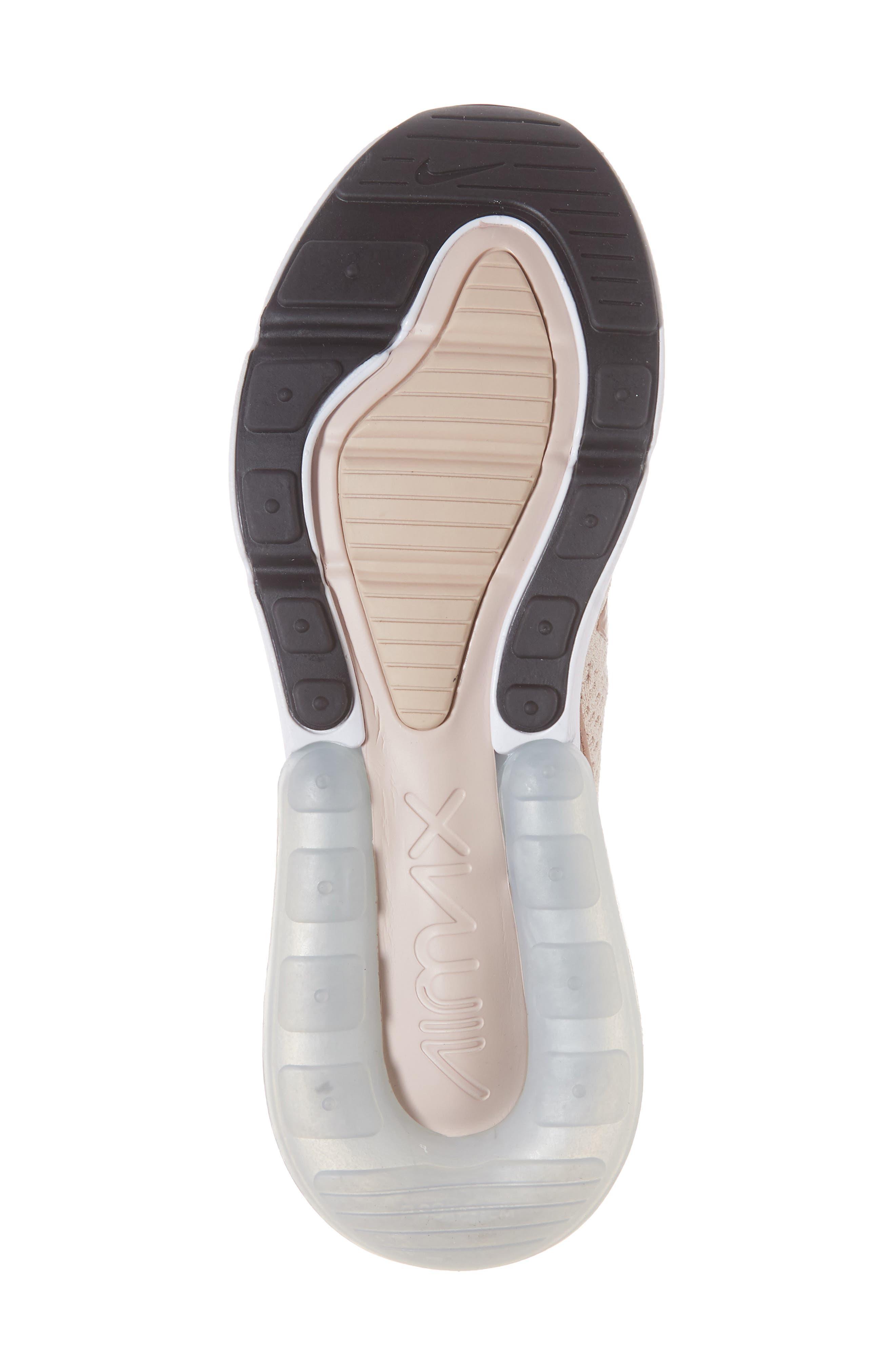 Air Max 270 Flyknit Sneaker,                             Alternate thumbnail 38, color,