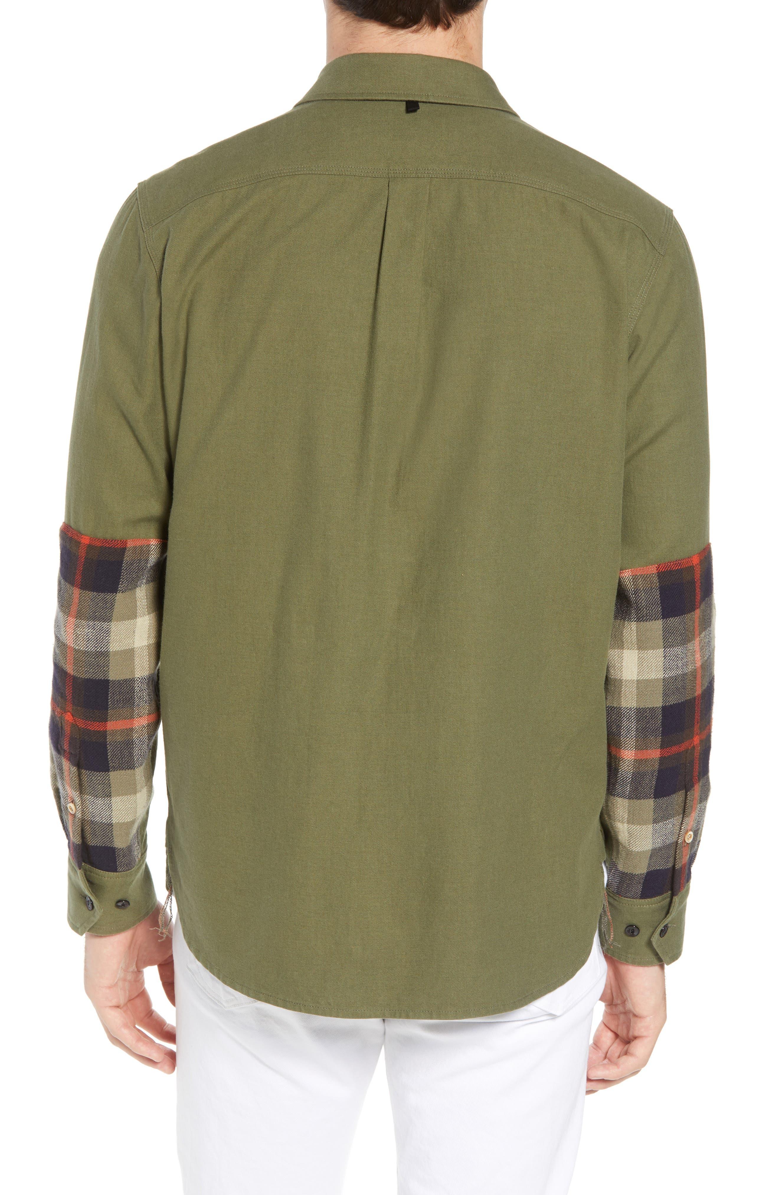 rag + bone Jack Slim Fit Plaid Sport Shirt,                             Alternate thumbnail 2, color,                             315