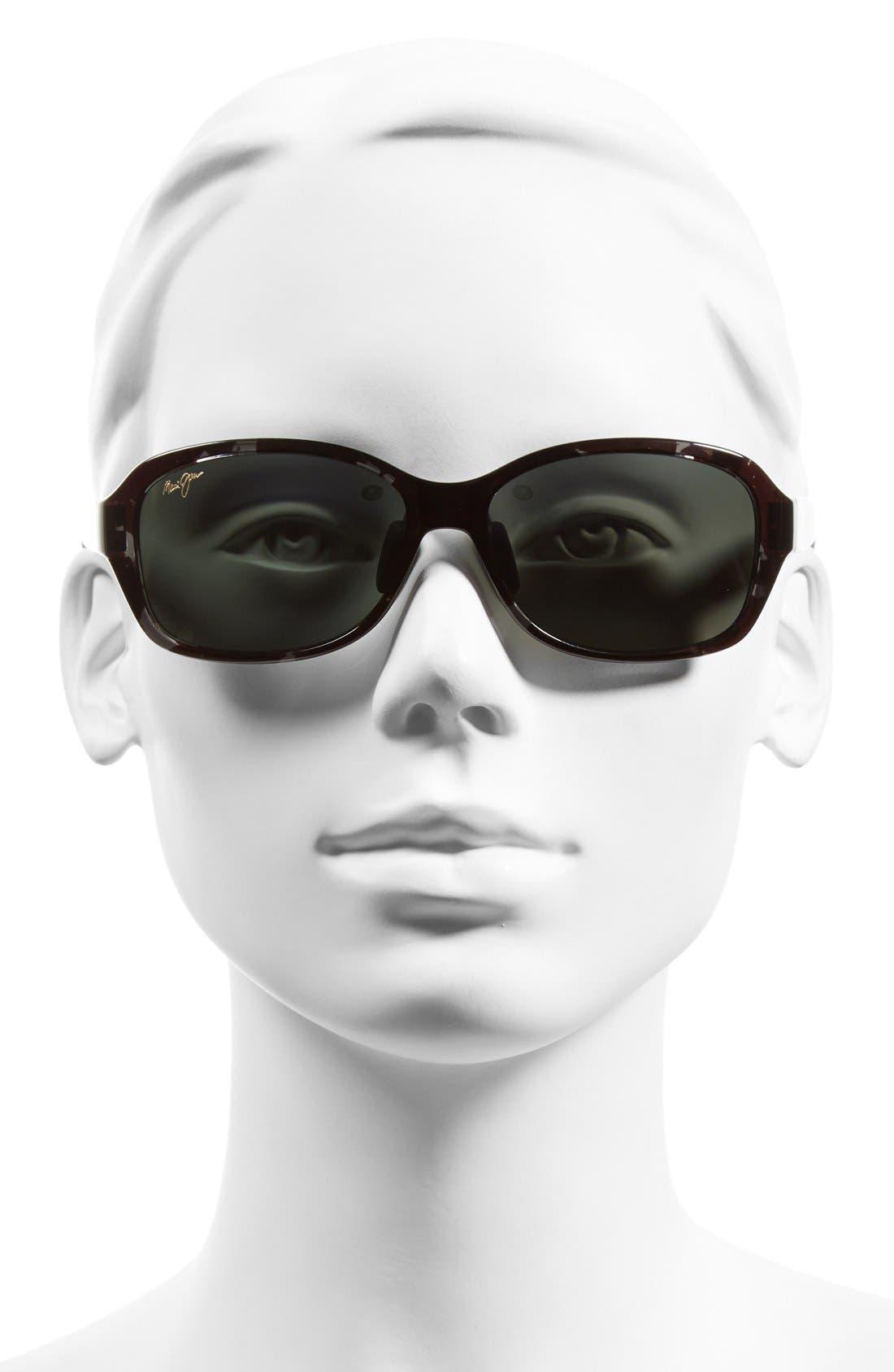 Koki Beach 56mm PolarizedPlus2<sup>®</sup> Sunglasses,                             Alternate thumbnail 2, color,                             001
