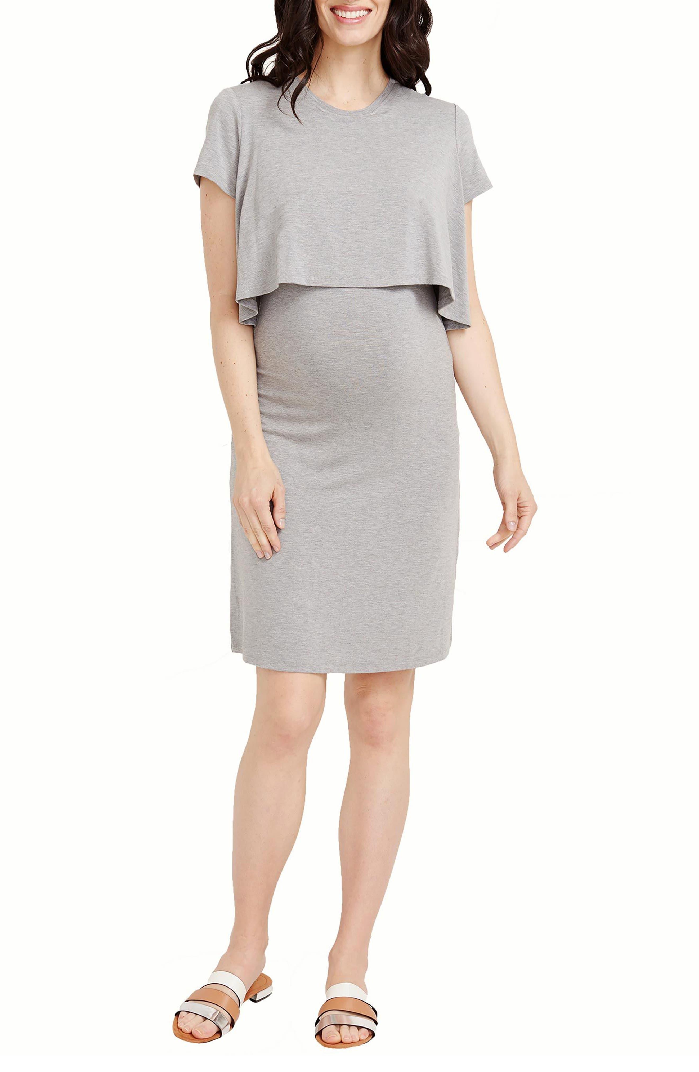 Rosie Pope Anita Popover Maternity Dress