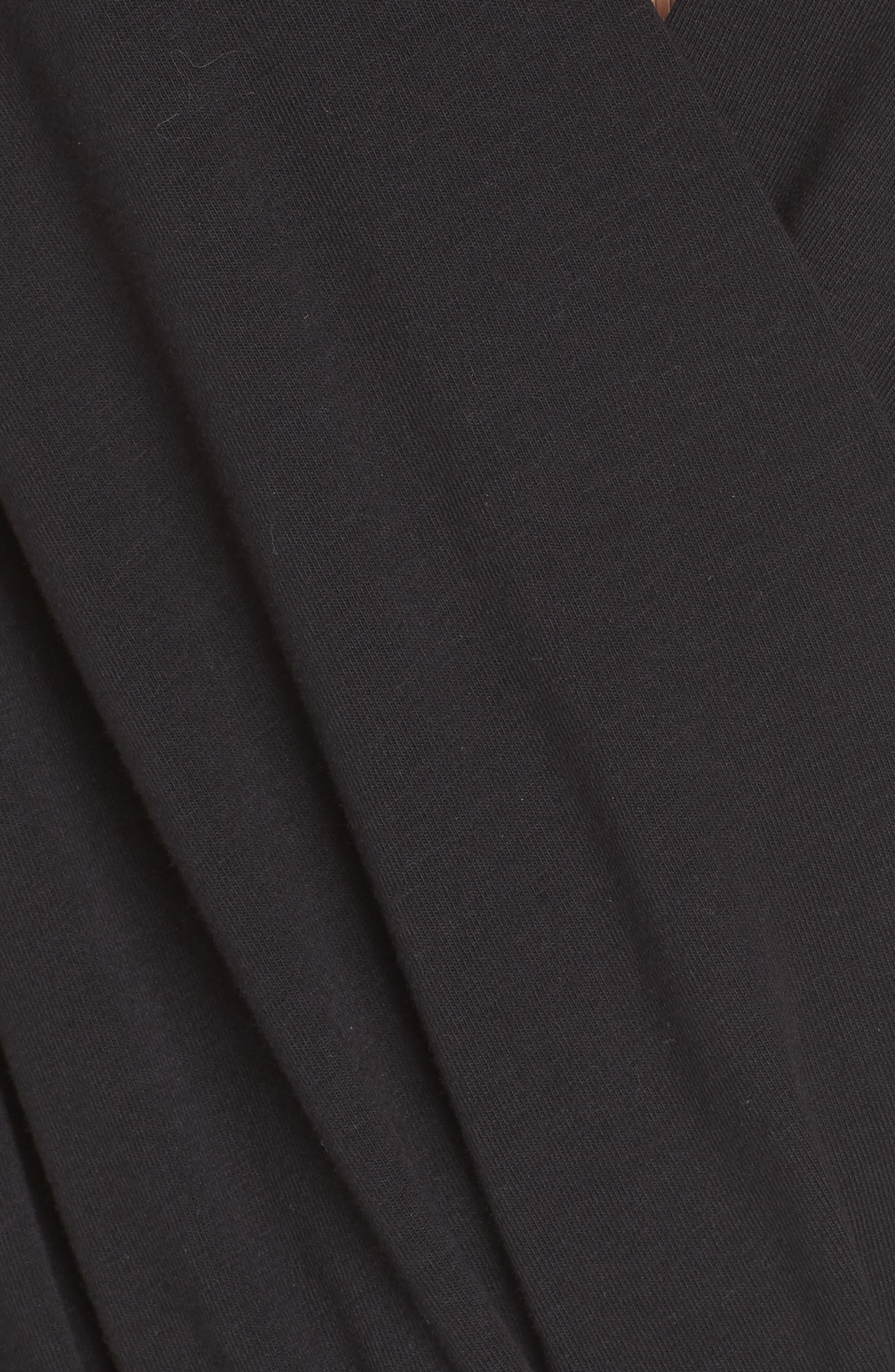 Wrap Front Bodysuit,                             Alternate thumbnail 5, color,                             004