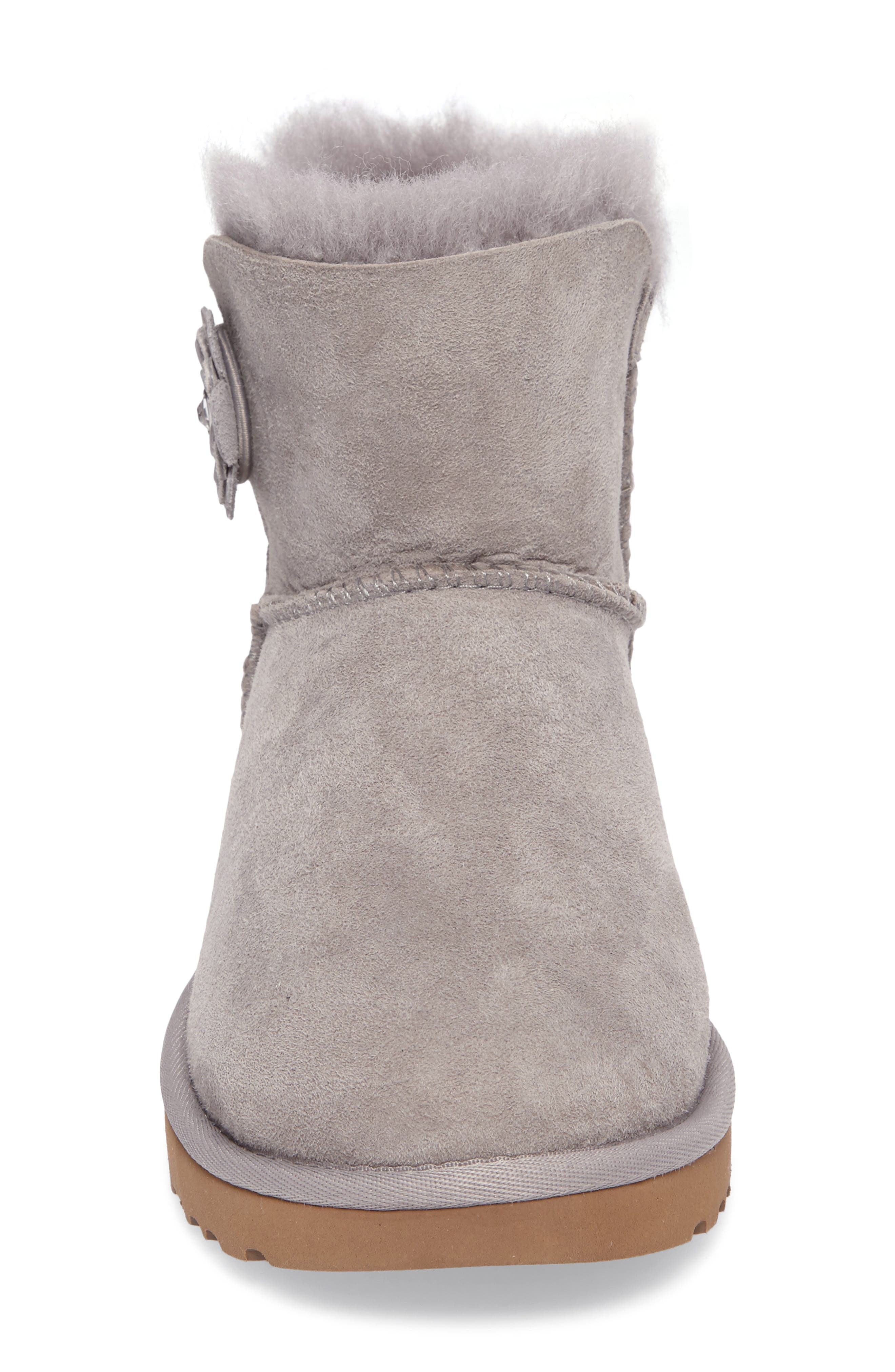 Bailey Petal Genuine Shearling Lined Mini Boot,                             Alternate thumbnail 11, color,