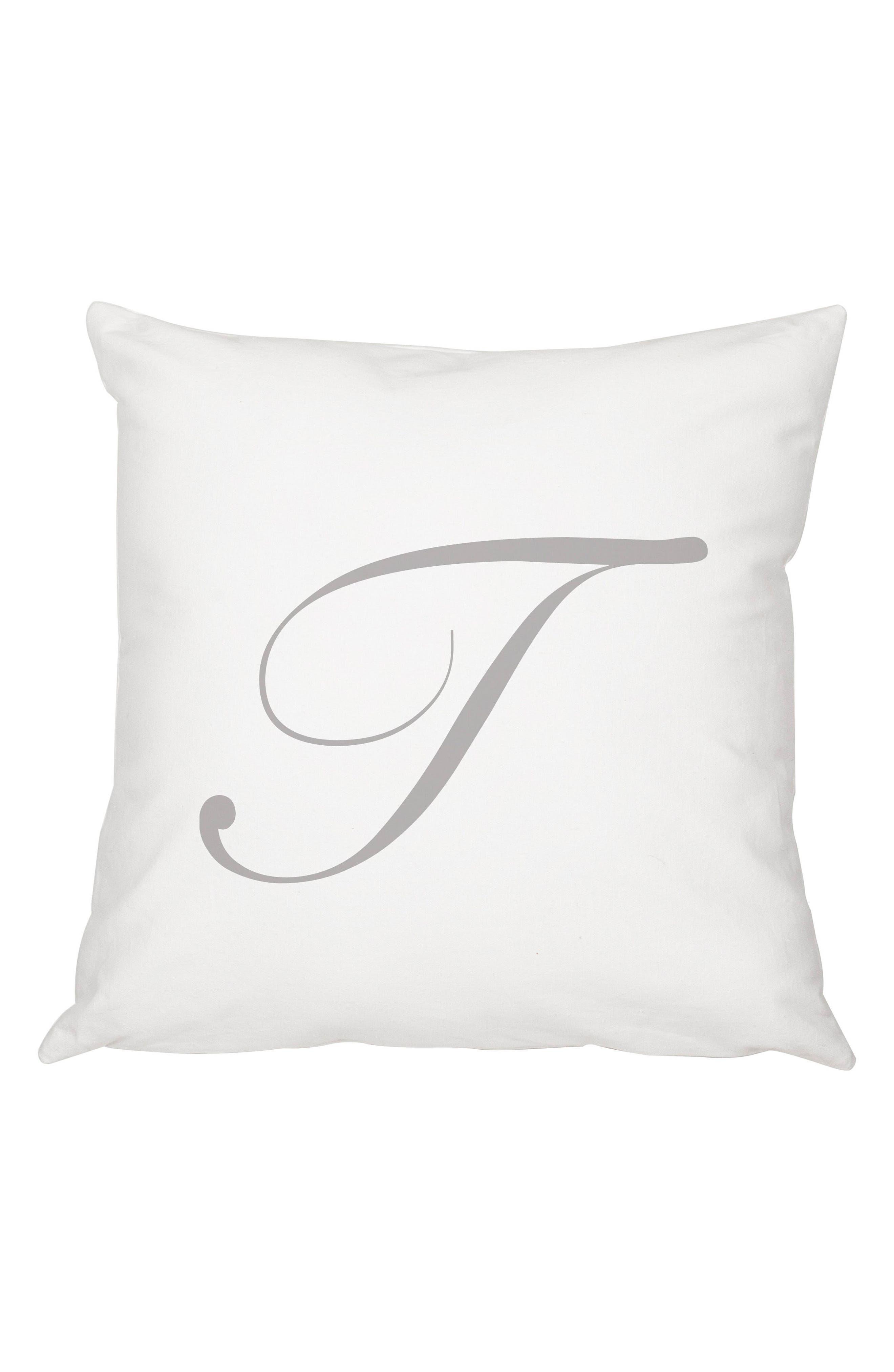 Script Monogram Accent Pillow,                             Main thumbnail 20, color,
