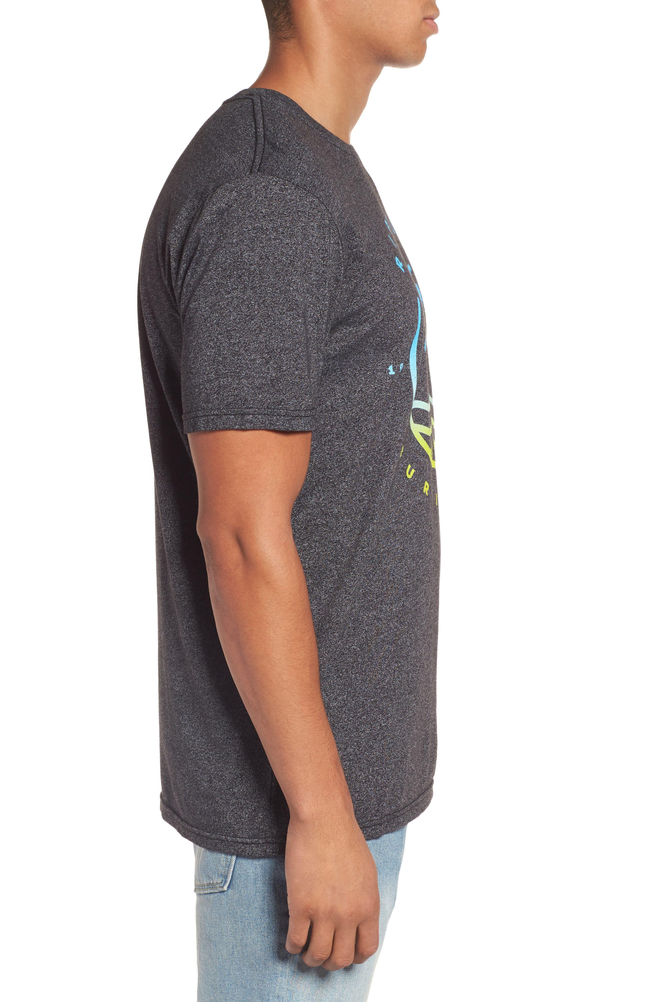 Bliss Mock Twist Graphic T-Shirt,                             Alternate thumbnail 3, color,                             001