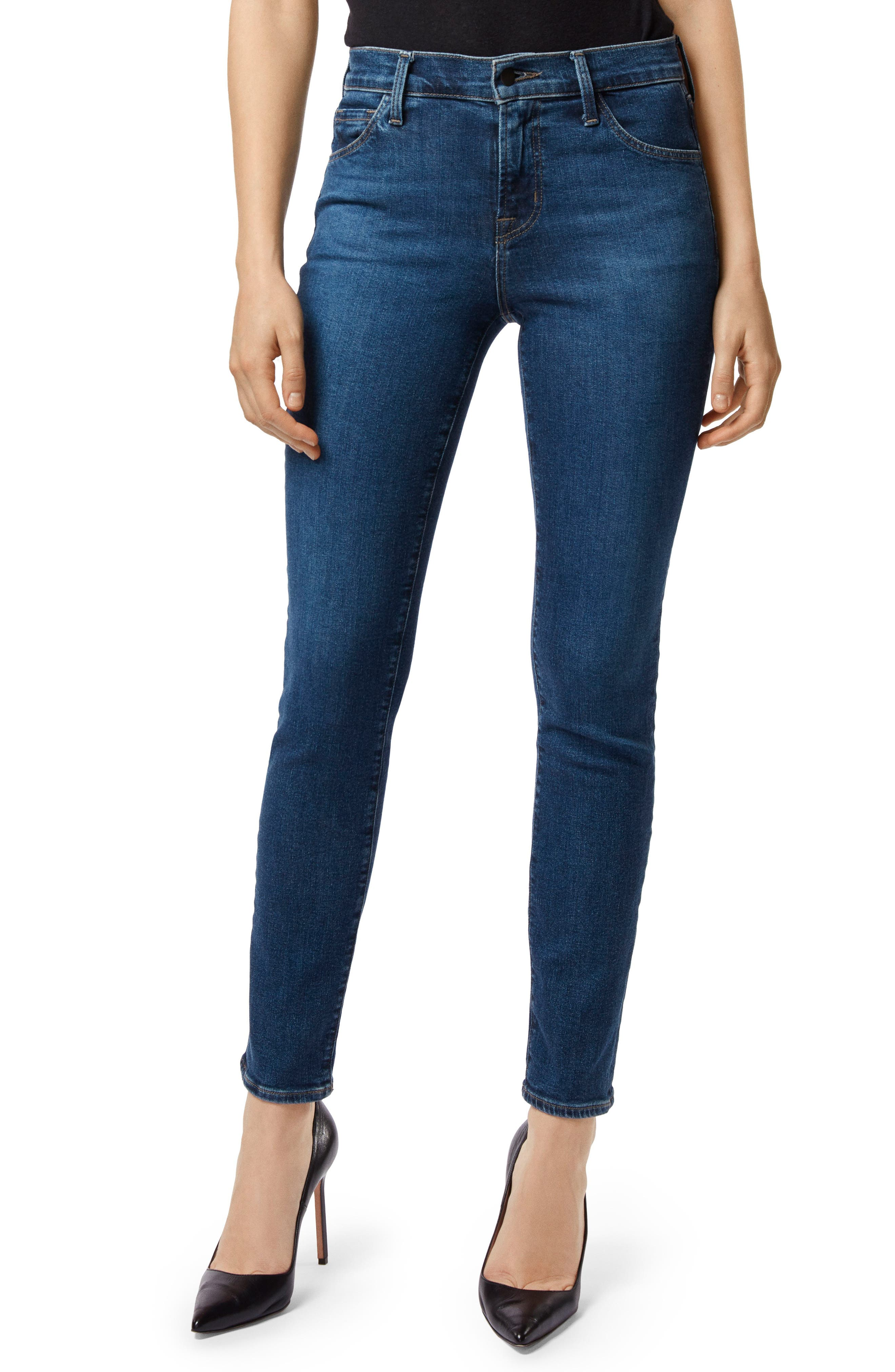 Maria High Waist Skinny Jeans, Main, color, MORAL