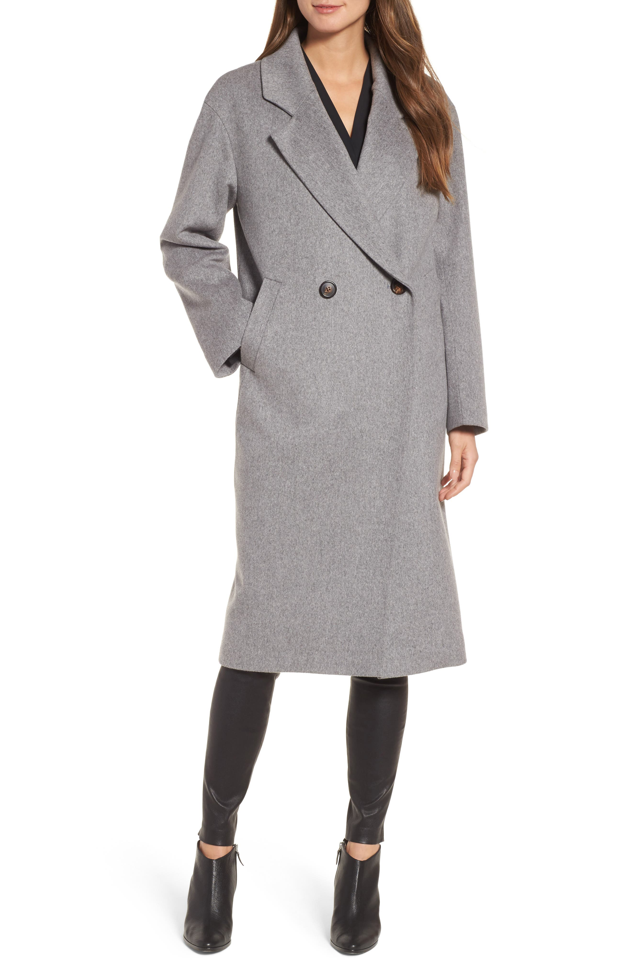 45 Loro Piana Wool Coat,                         Main,                         color, 080