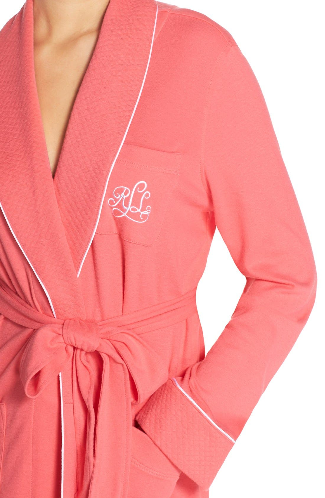 Quilted Collar Robe,                             Alternate thumbnail 66, color,