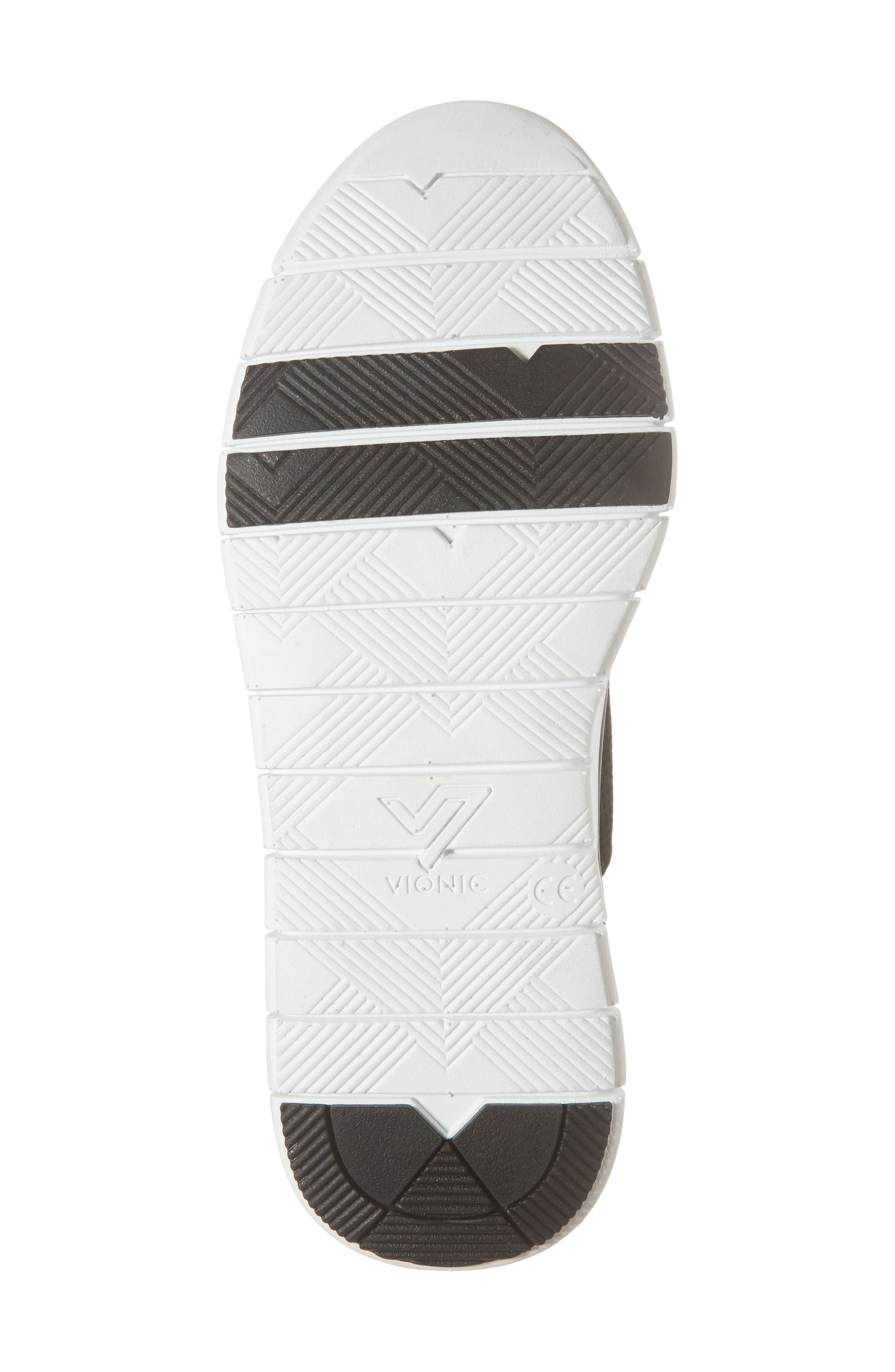 Joey Sneaker,                             Alternate thumbnail 6, color,                             BLACK NUBUCK LEATHER