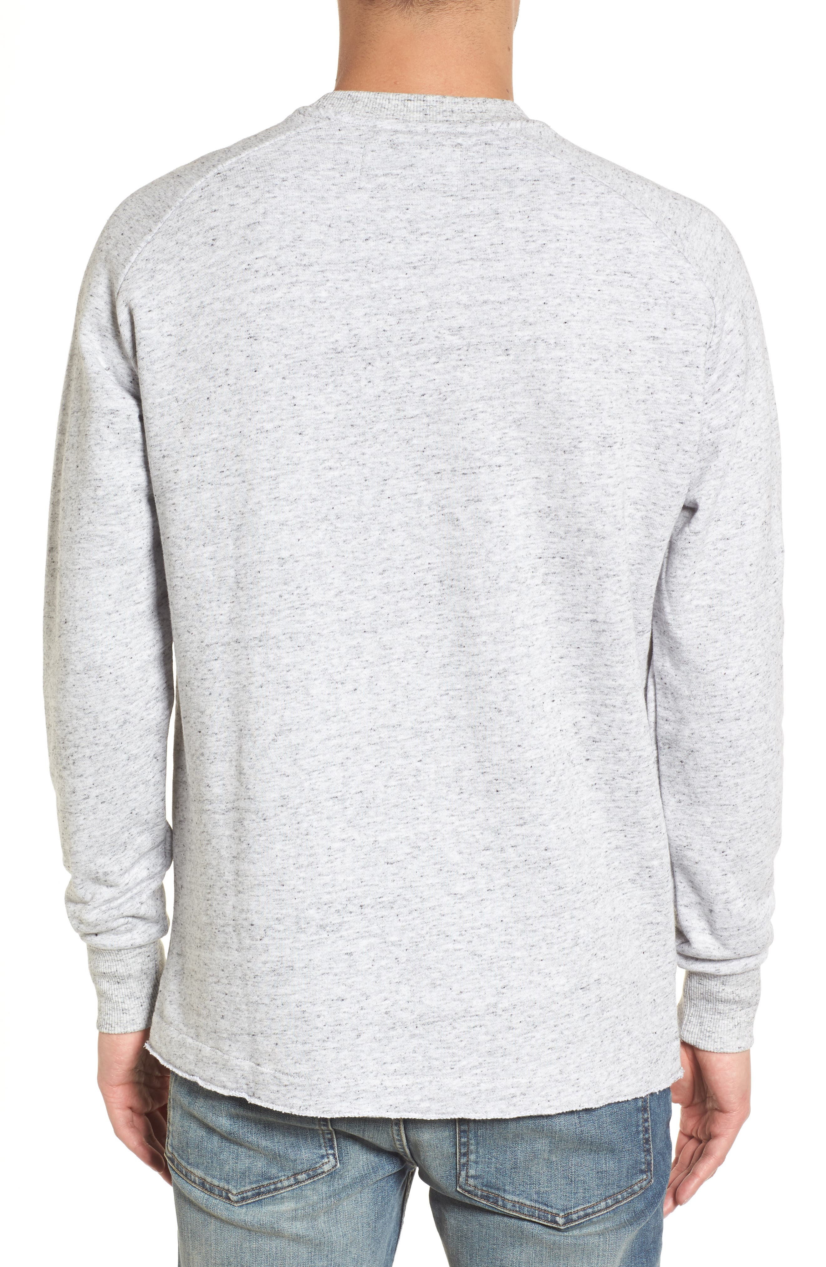 Torn Crew Sweatshirt,                             Alternate thumbnail 2, color,                             059