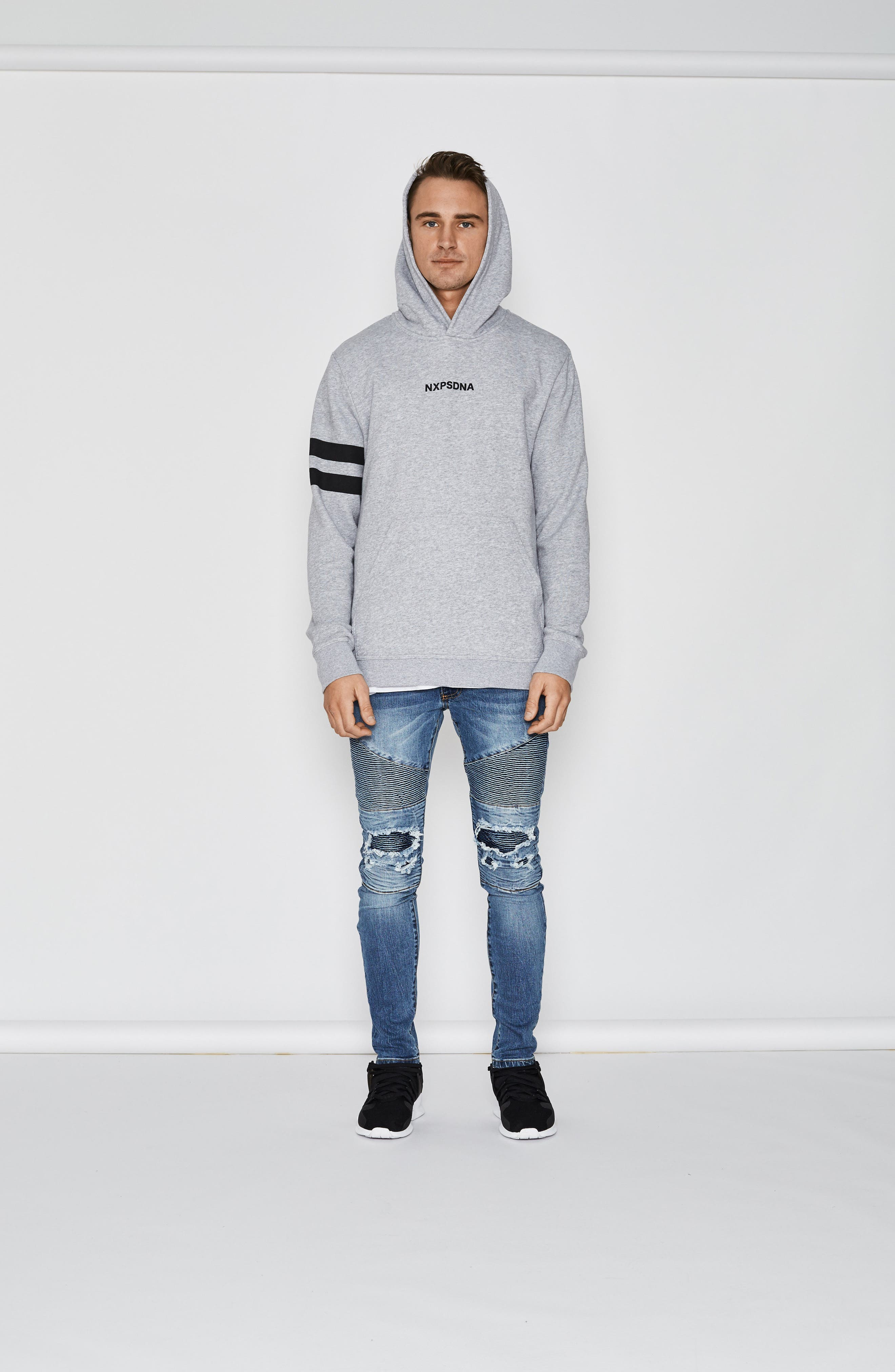 Overtime Hoodie,                             Alternate thumbnail 4, color,                             062