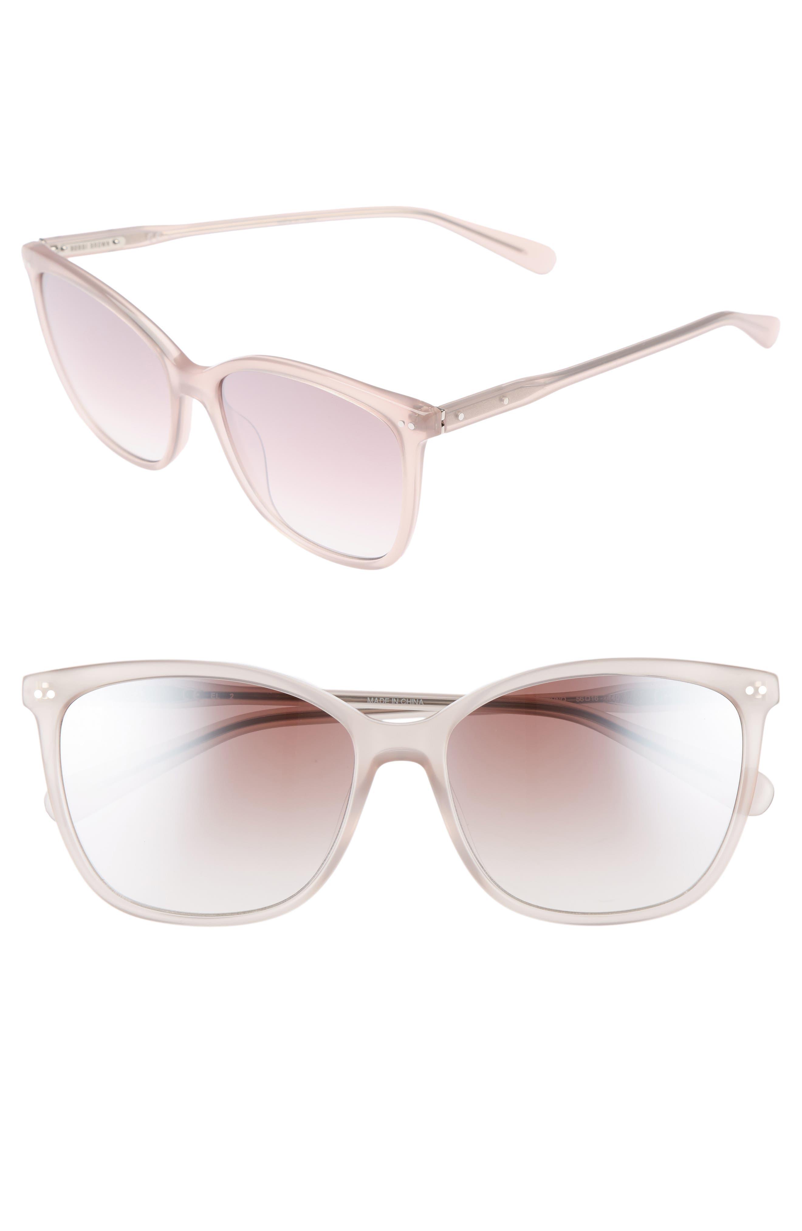The Lara 56mm Cat Eye Sunglasses,                             Main thumbnail 2, color,